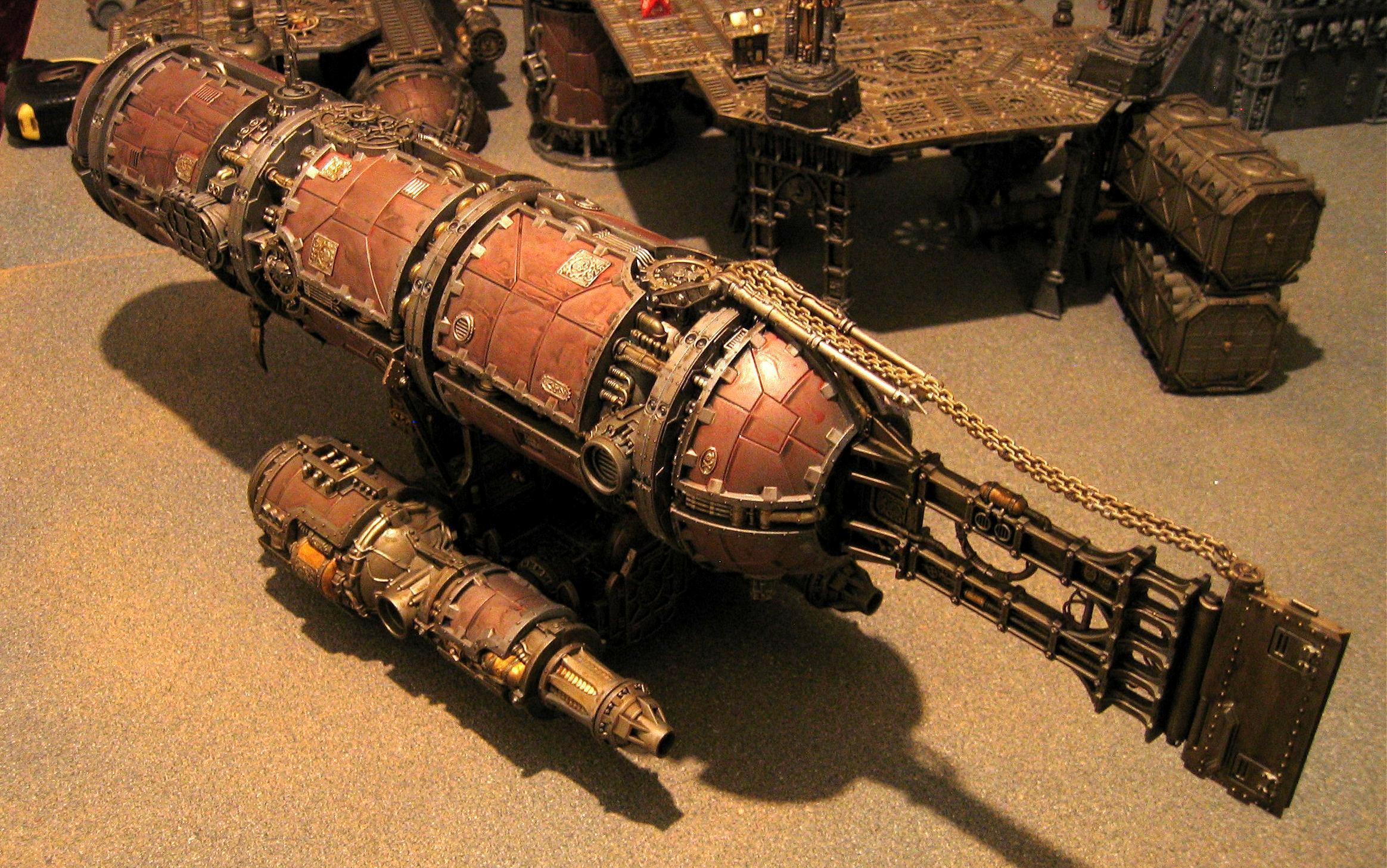 Admech, Blimp, Mechanicus, Warhammer 40,000