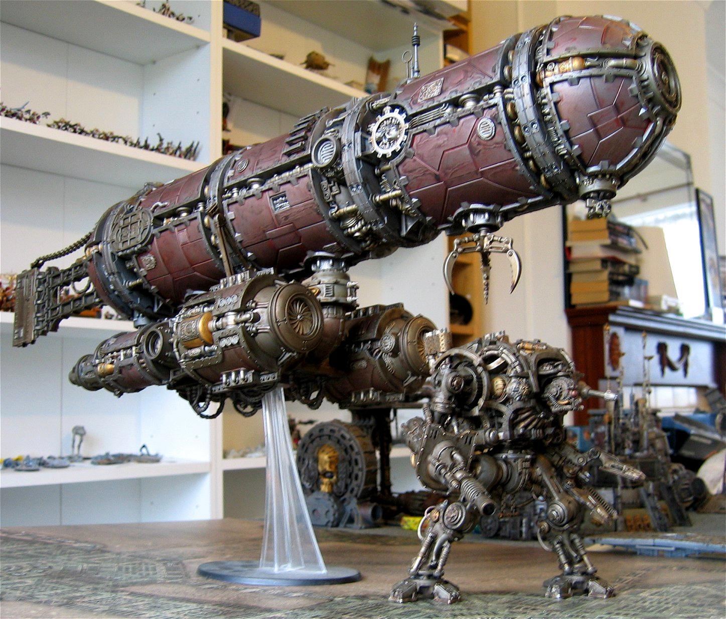 Adeptus Mechanicus, Admech, Airship, Blimp, Mechanicus, Warhammer 40,000