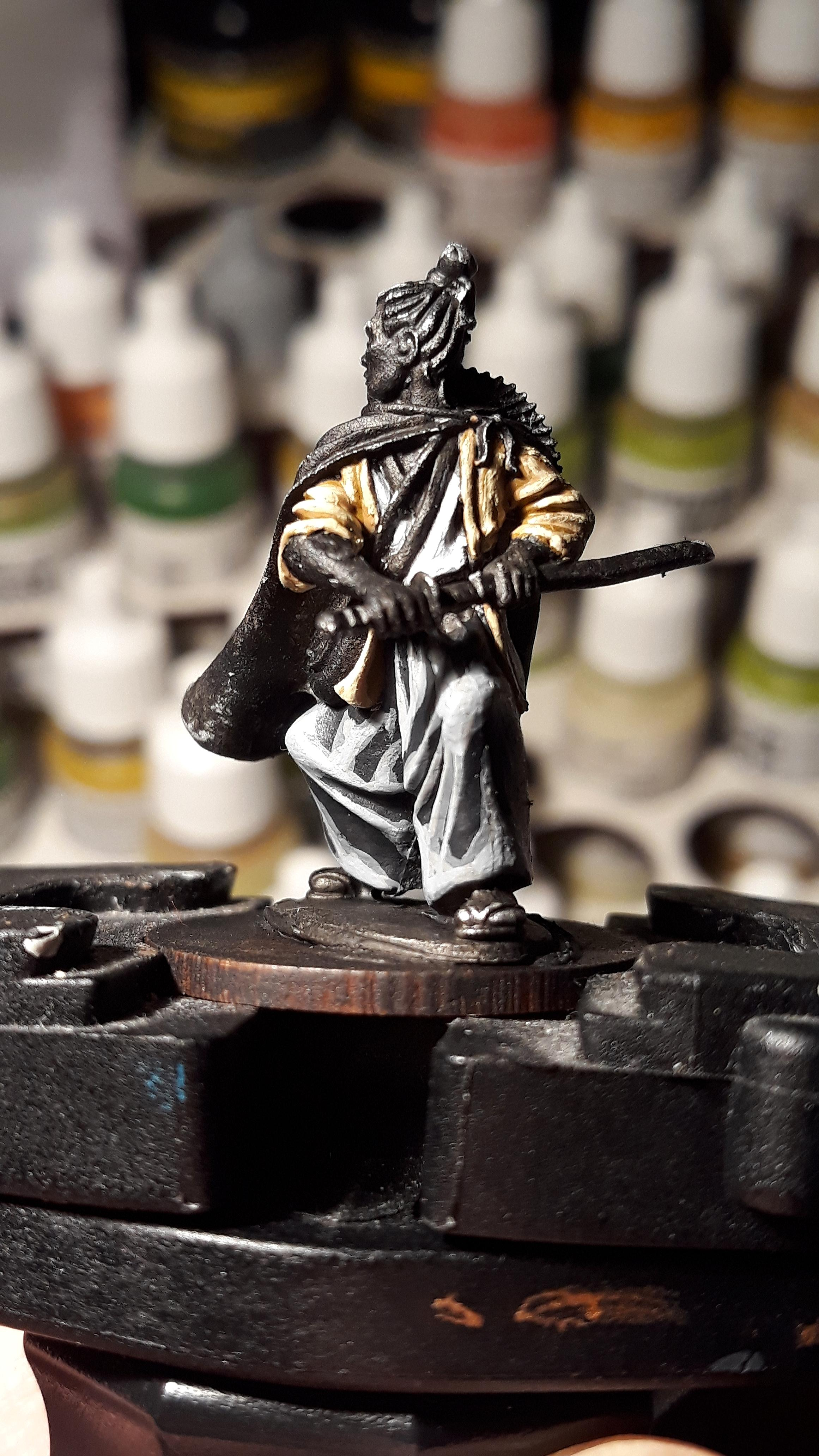Samurai, Test Of Honour, Work In Progress