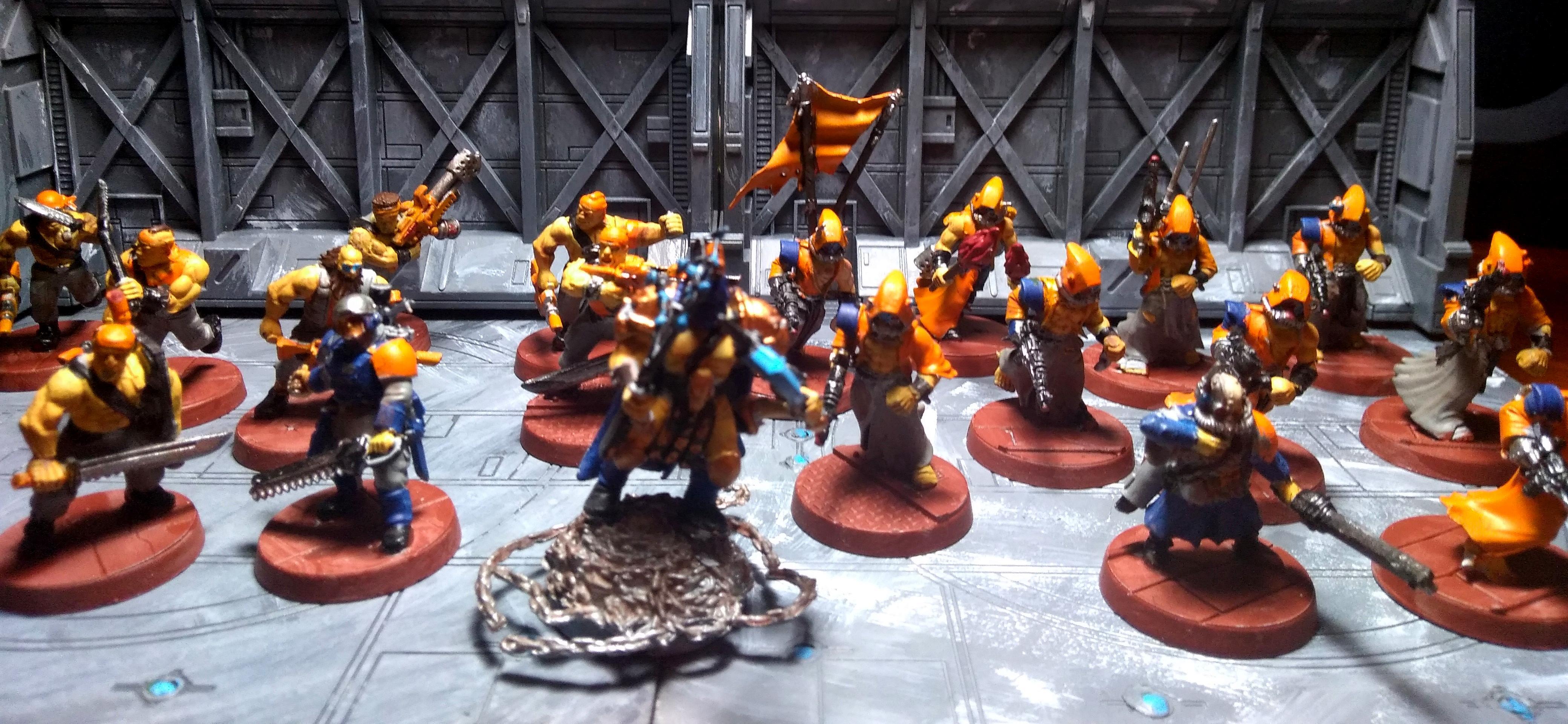 Adeptus Arbites, Imperial Guard, Penal Legion