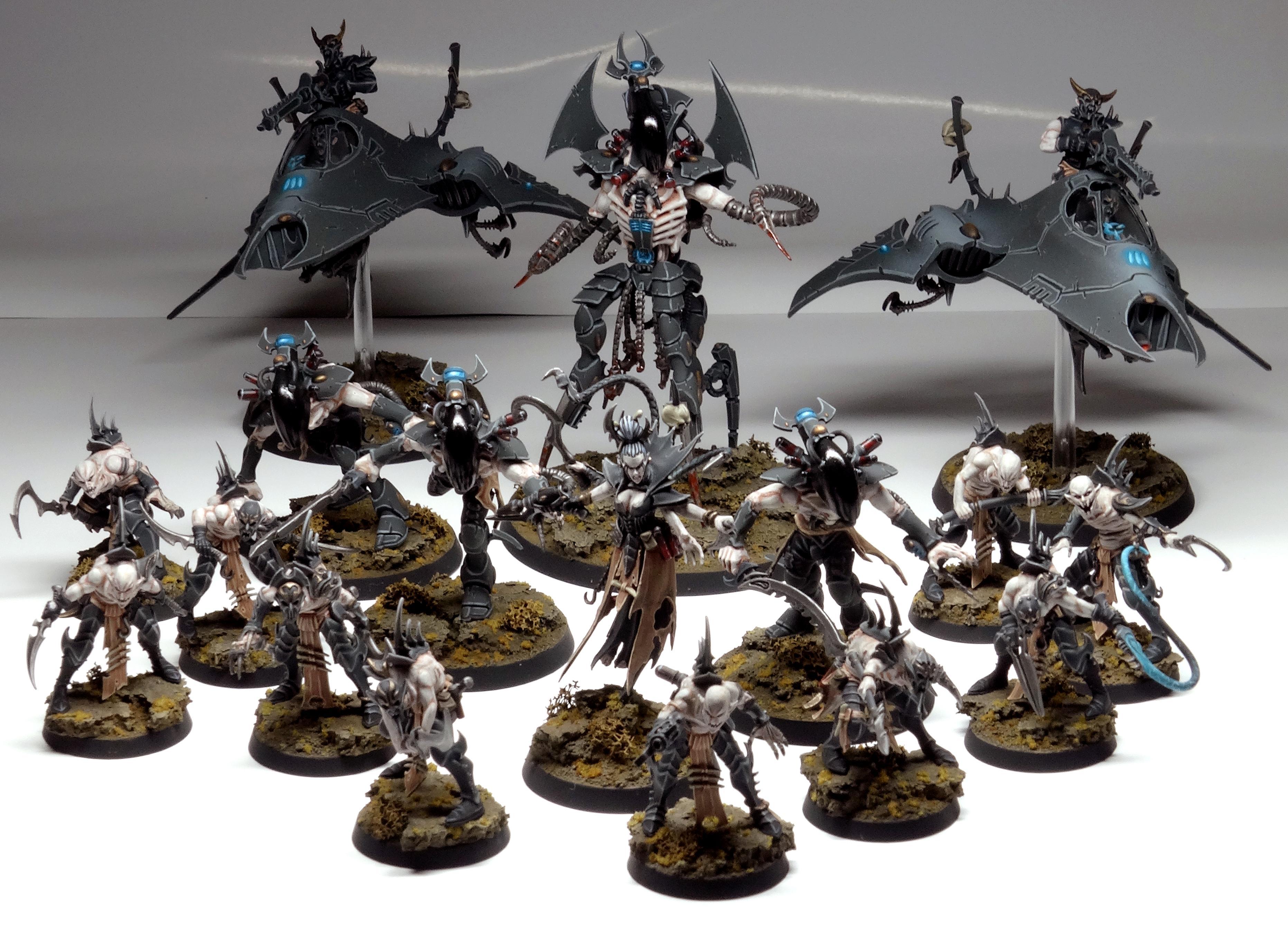 Army, Commoragh, Conversion, Coven, Cronos, Dark Eldar, Drukhari, Grotesques, Haemonculus, Kabal, Kitbash, Object Source Lighting, Venom, Warhammer 40,000, Warhammer Fantasy, Wracks, Xenos