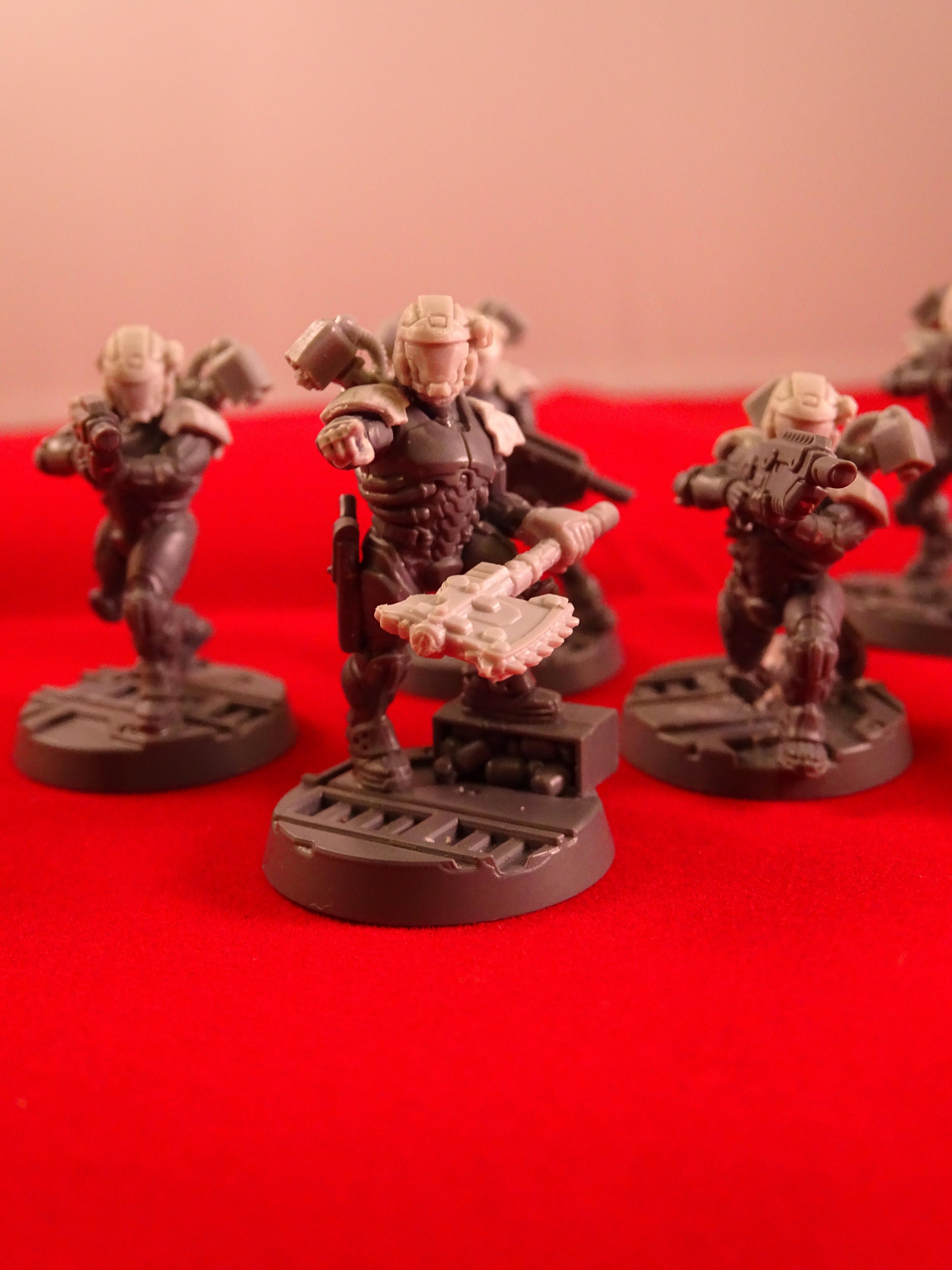 Converted Van Saar, Drop Troop, Drop Troops, Grav Chute, Guard, Imperial Guard, Necromunda Astra Militarum Conversions, Odst, Puppetswar, Voidborne