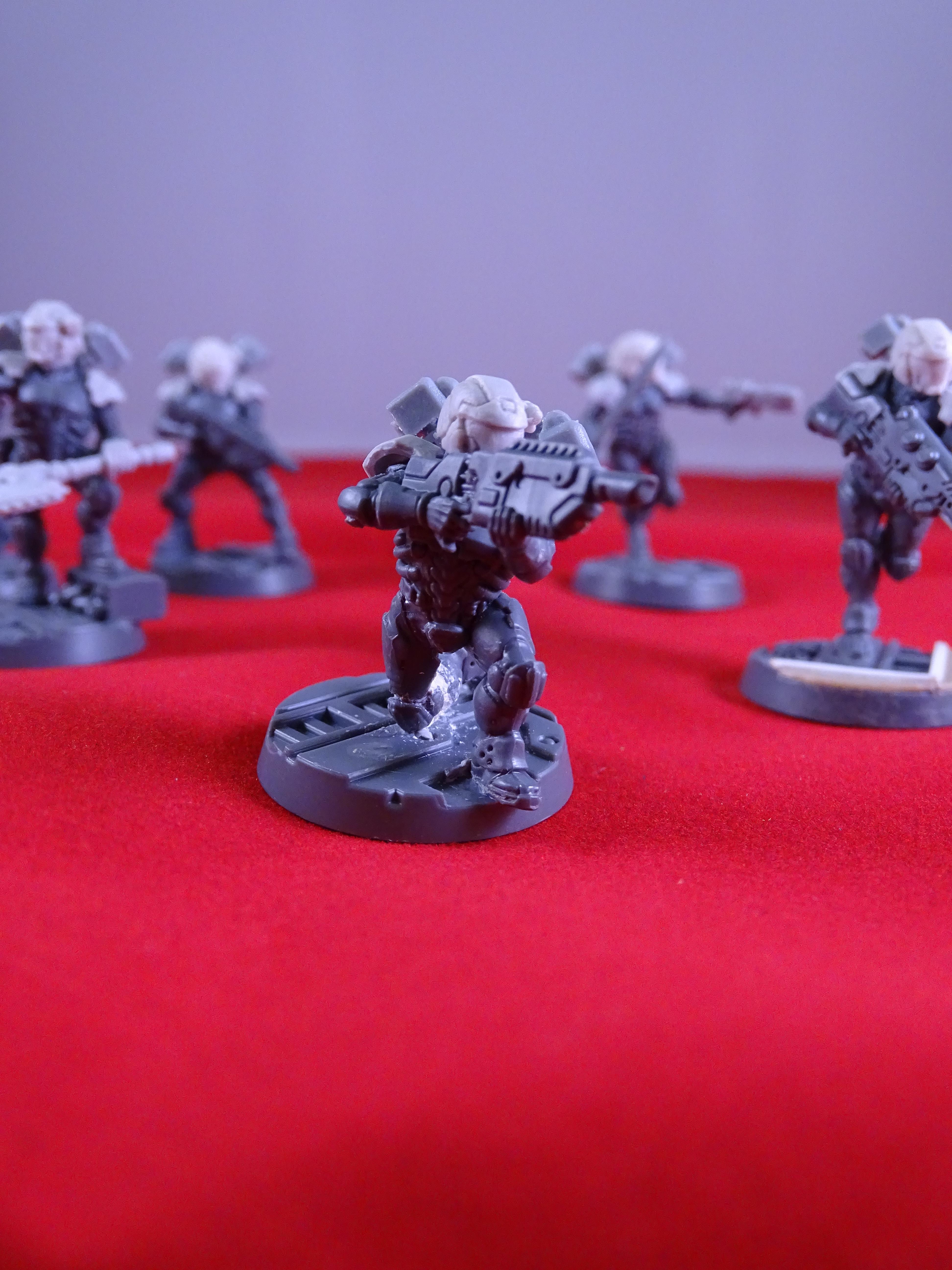 Converted Van Saar, Drop Troop, Drop Troops, Guard, Imperial Guard, Necromunda Astra Militarum Conversions, Odst, Puppetswar, Voidborne
