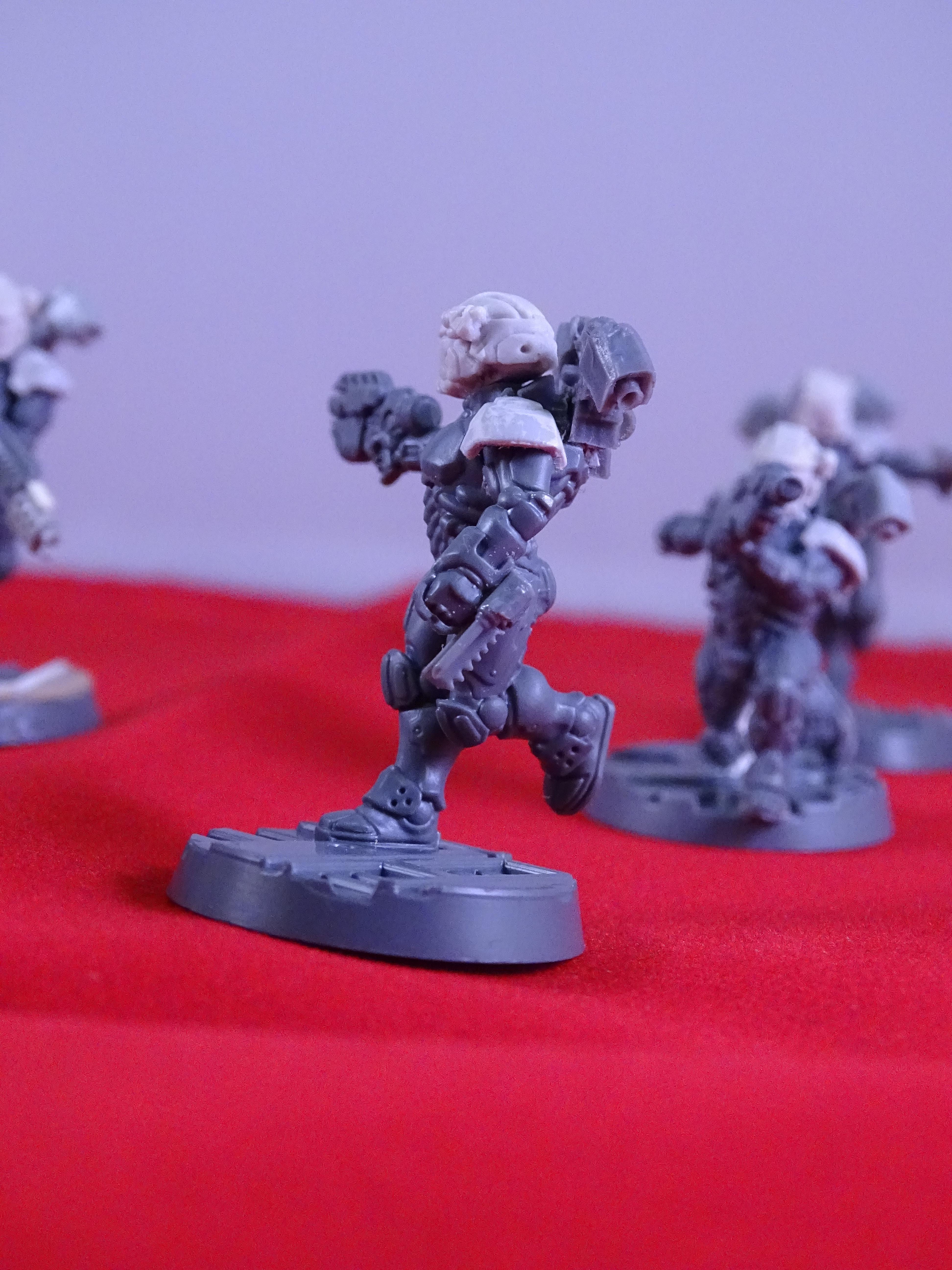 Converted Van Saar, Drop Troop, Drop Troops, Guard, Imperial Guard, Medic, Necromunda Astra Militarum Conversions, Odst, Puppetswar, Voidborne