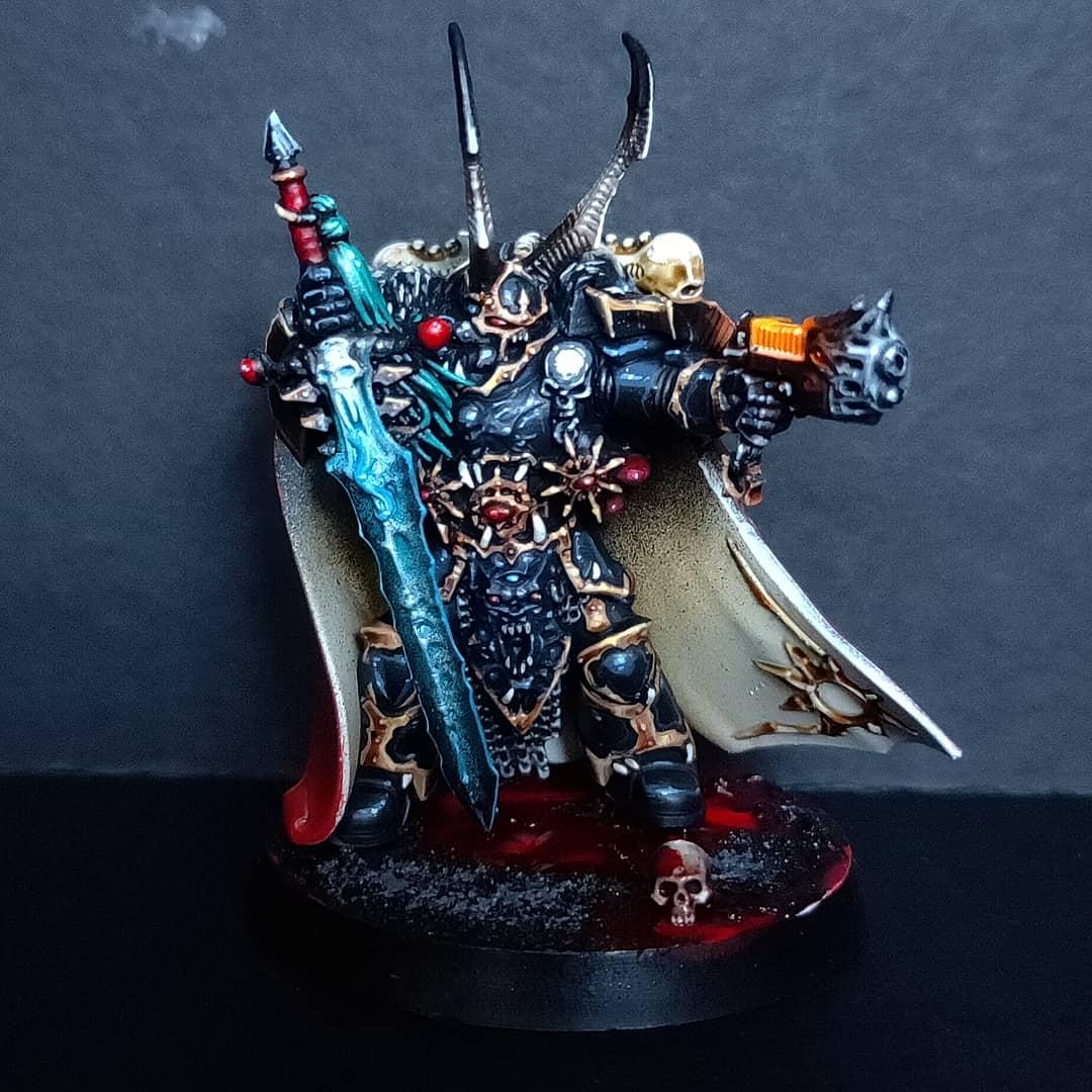 Black Legion, Chaos, Chaos Knight, Chaos Lord, Chaos Space Marines, Chaos Undivided, Dark Vengeance, Heretic Astartes, Lord Krasus, Sin Eaters, Warhammer 40,000