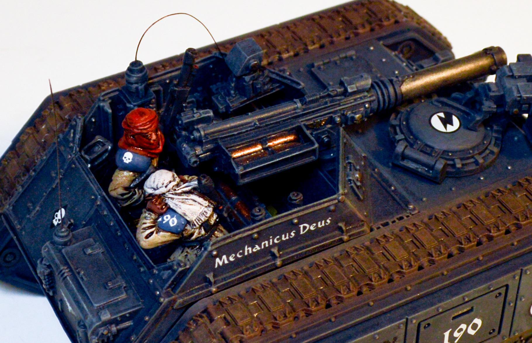 Astra Militarum, Imperial Guard, Salamander Scout Vehicle, Tallarn Desert Raiders