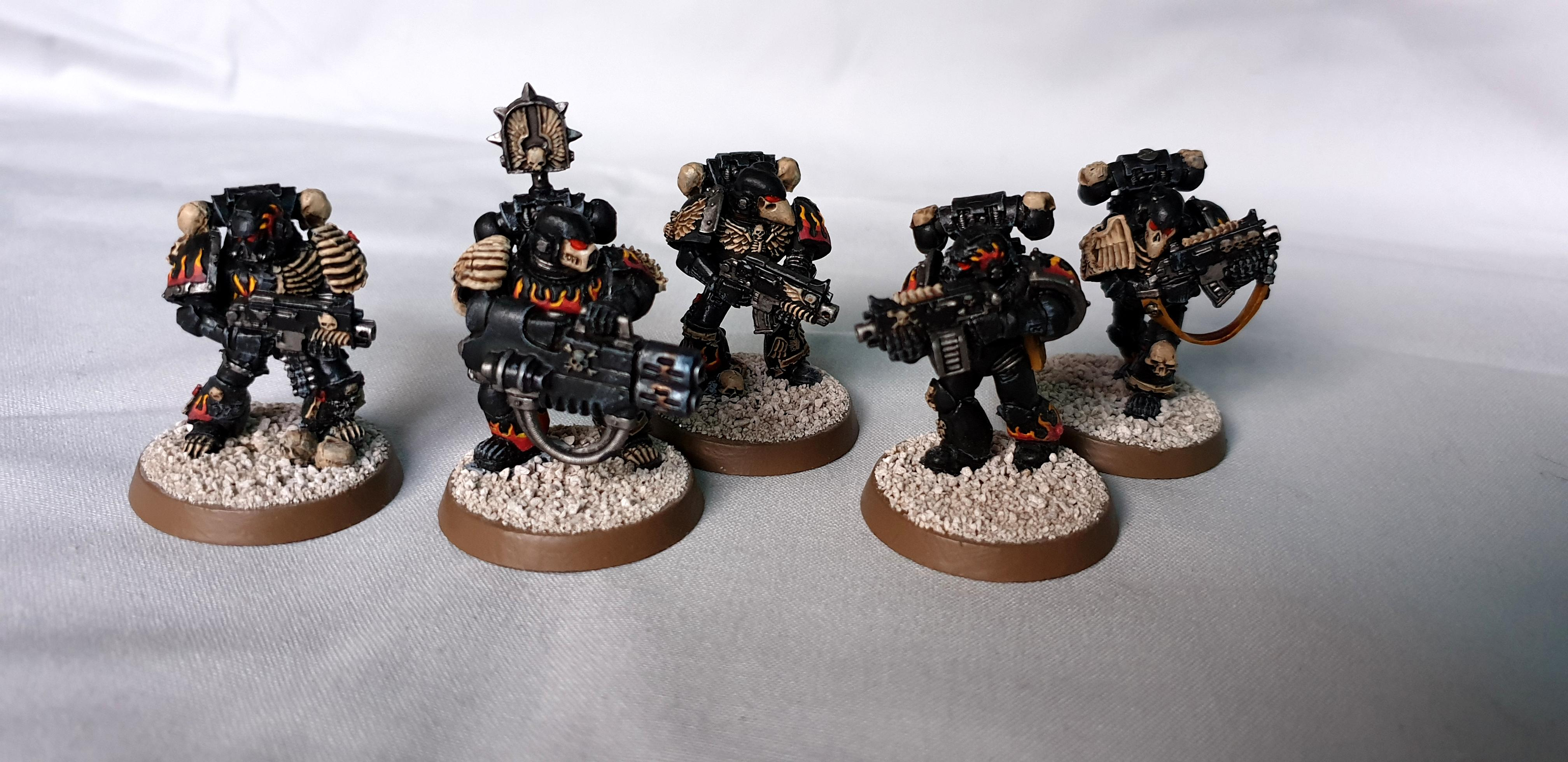 Legion Of The Damned, Space Marines