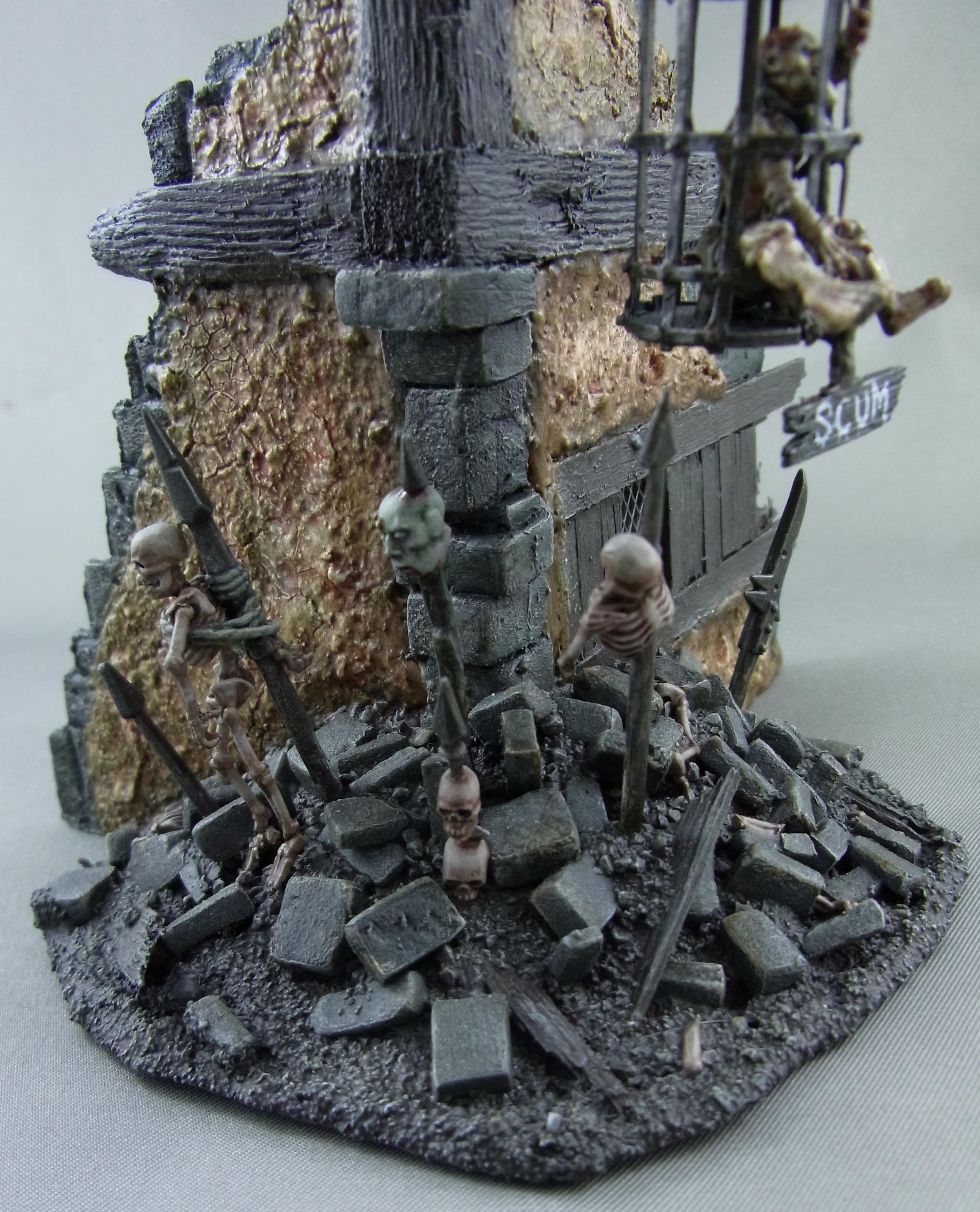 Mordheim, Terrain, Skeleton Pile