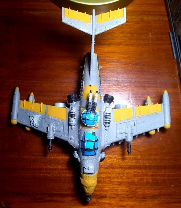 Avenger, Counts As, Dakkajet, Fighter, Flyer, Imperial Guard, Orks, Thunderbolt