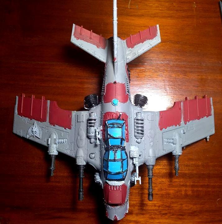 Counts As, Dakkajet, Fighter, Flyer, Imperial Guard, Orks, Thunderbolt