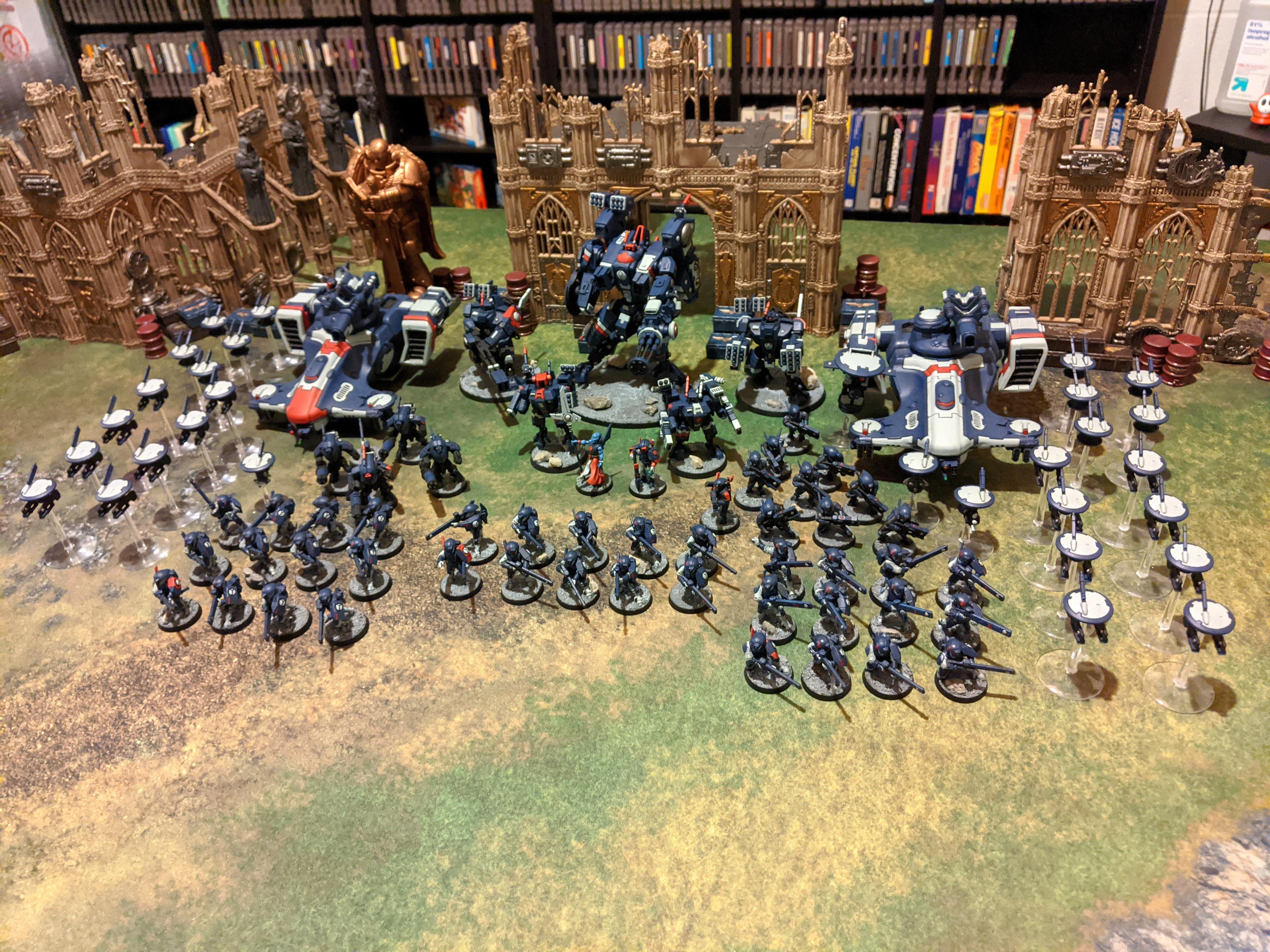 Army, Tau, Warhammer 40,000