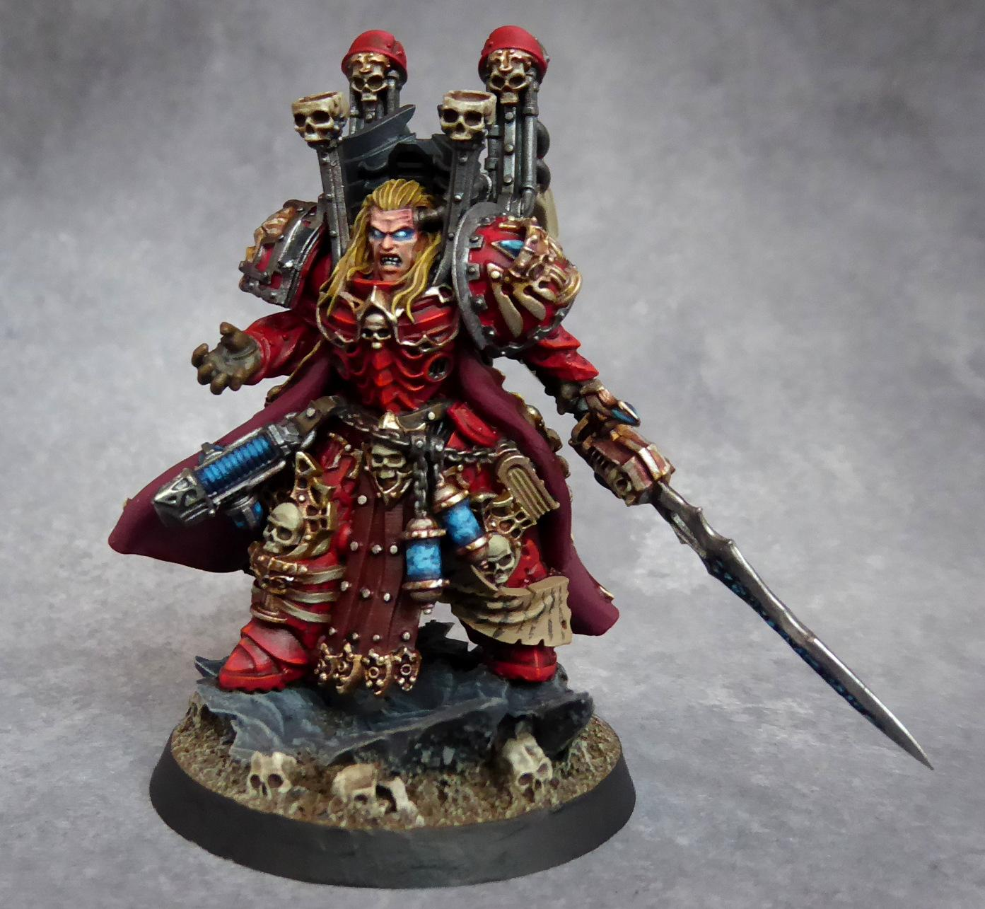 Blood Angels, Librarian, Lord Of Cheese, Mephiston
