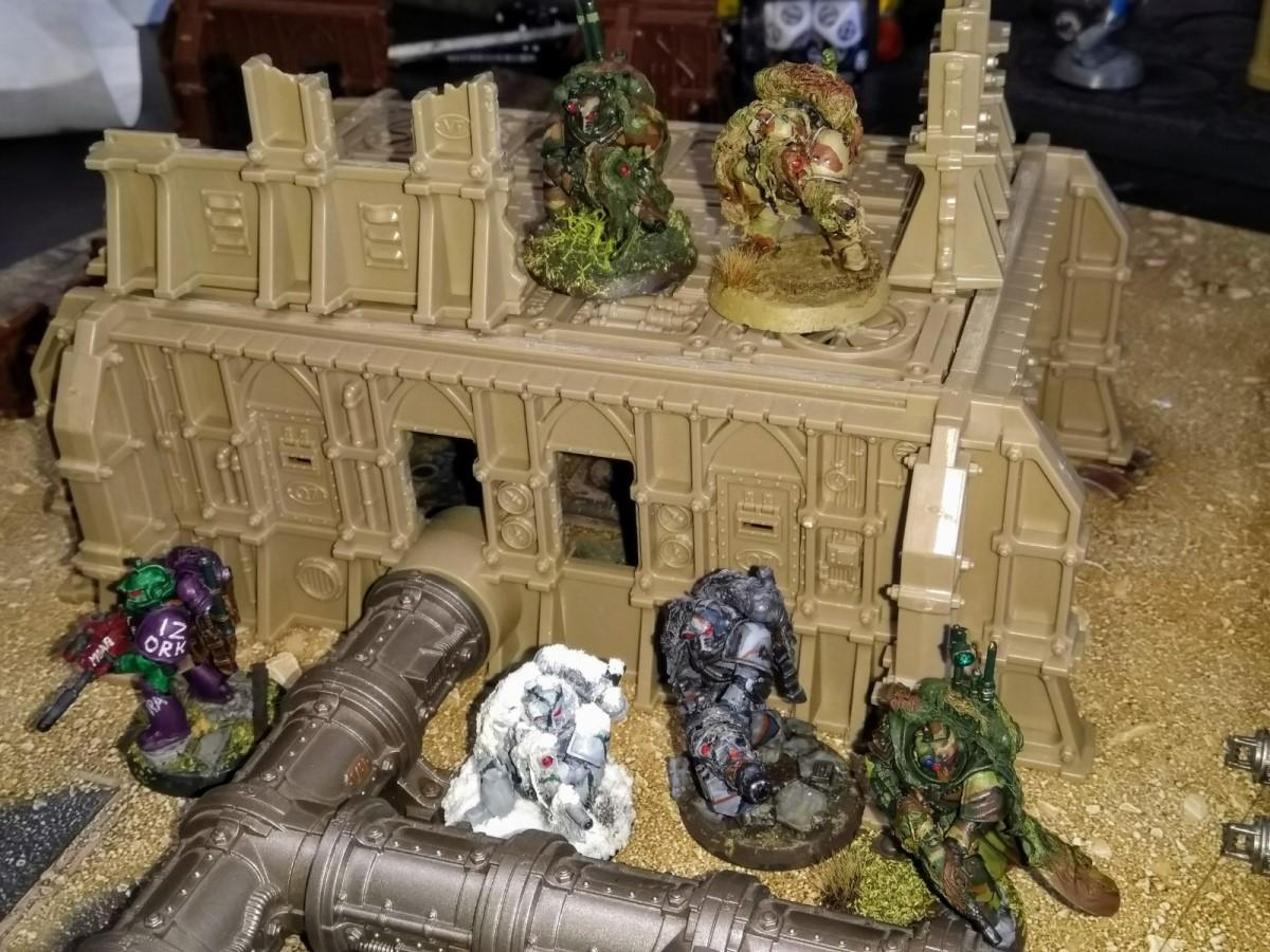 Astartes, Camouflage, Comedy, Forlorn Hope, Greenskin, Homebrew Chapter, Humor, Infiltrator, Legion Recon, Orks, Space Marines, Spy
