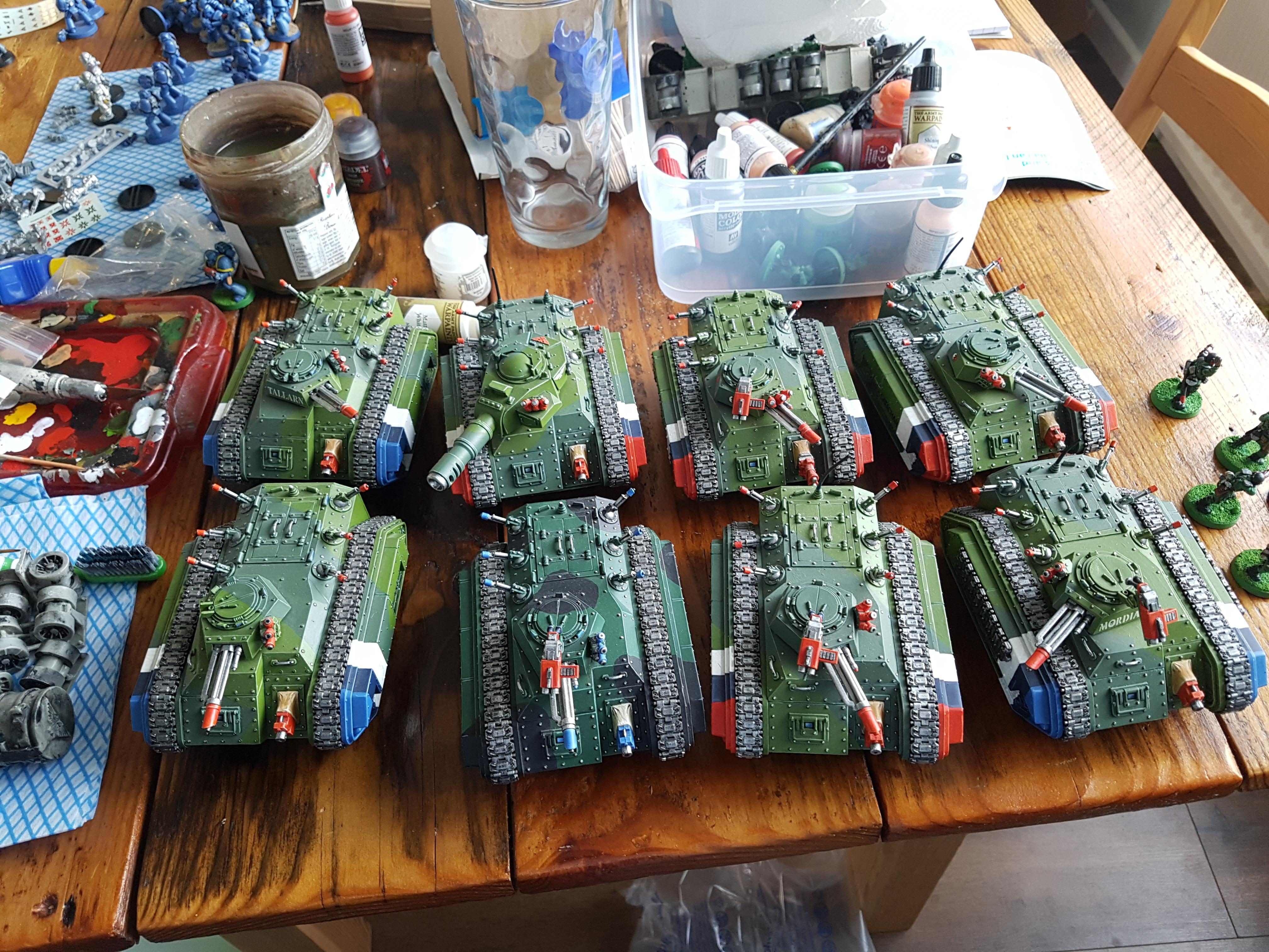 2nd Edition, Armored Company, Chimera, Imperial Guard
