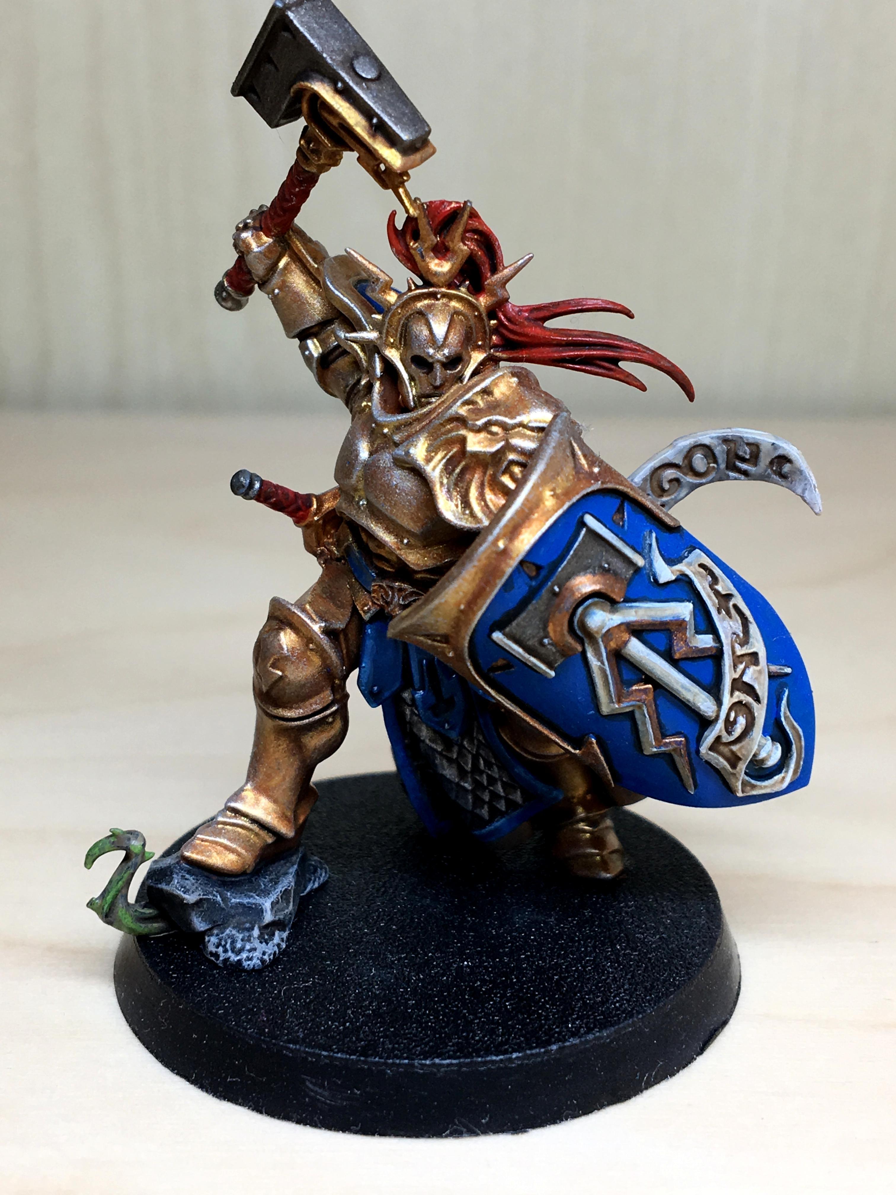 Age Of Sigmar, Eternal, Gold, Hammer, Stormcast, Tmm