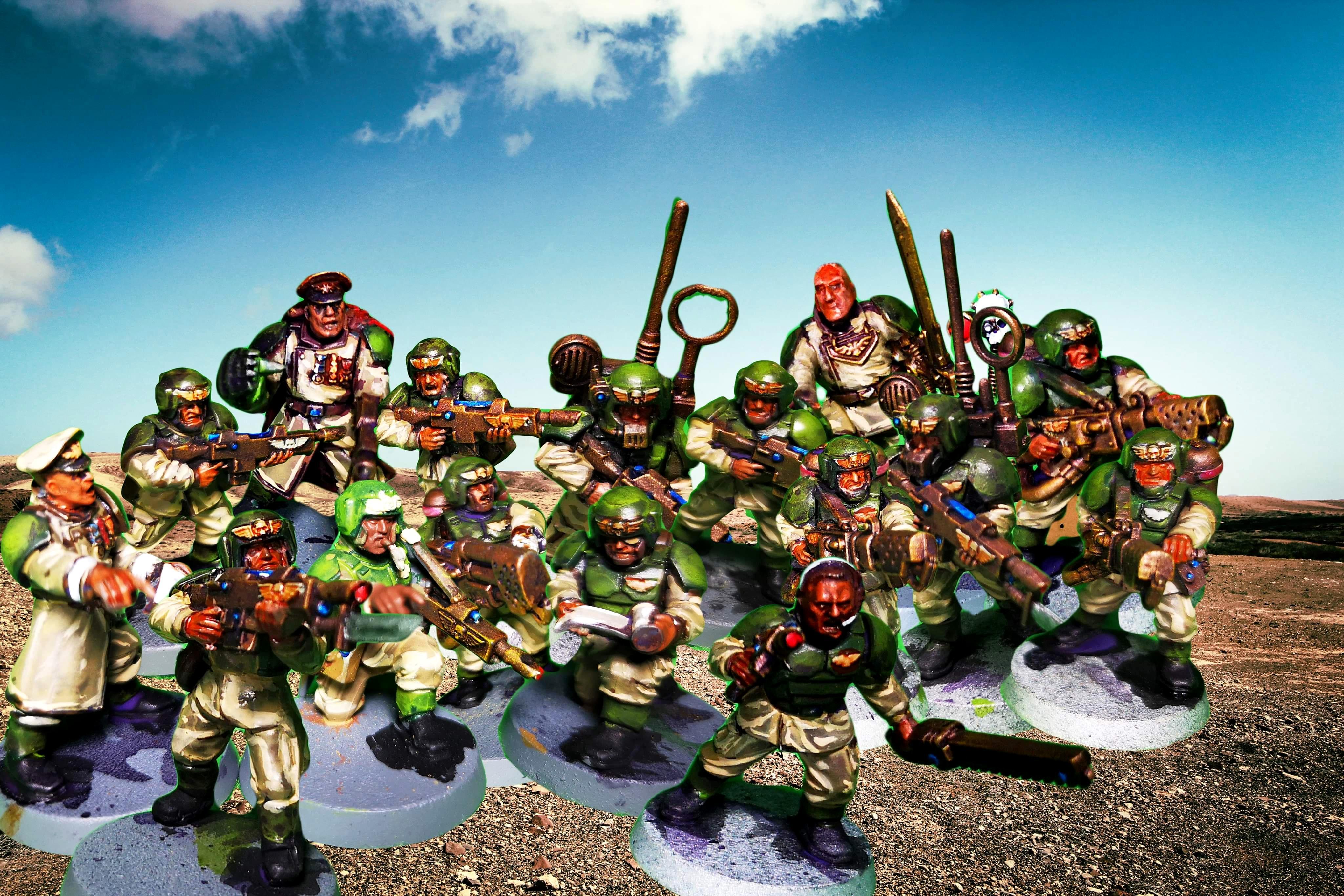 Cadians, Guard, Warhammer 40,000