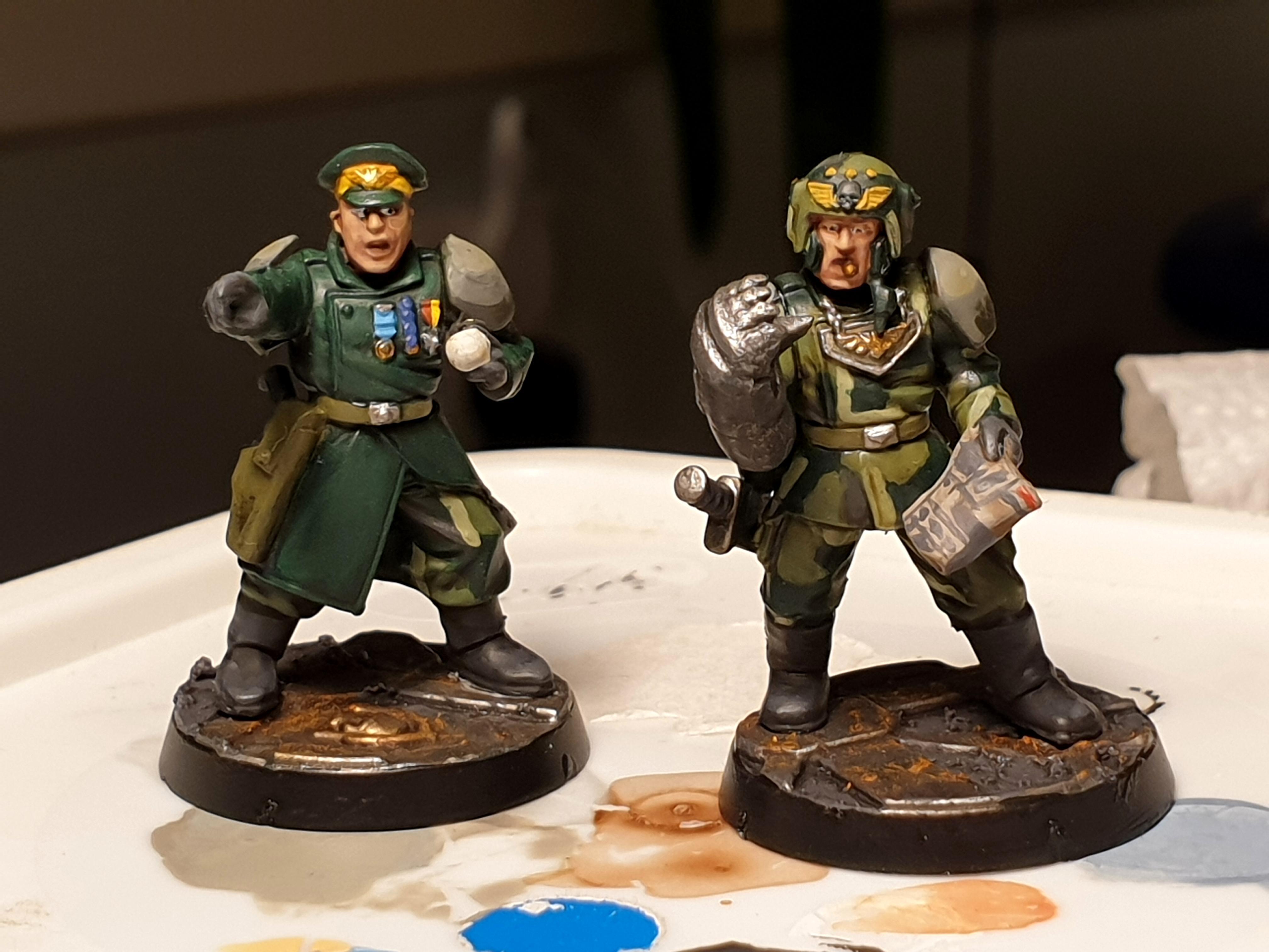 Company and platoon commander