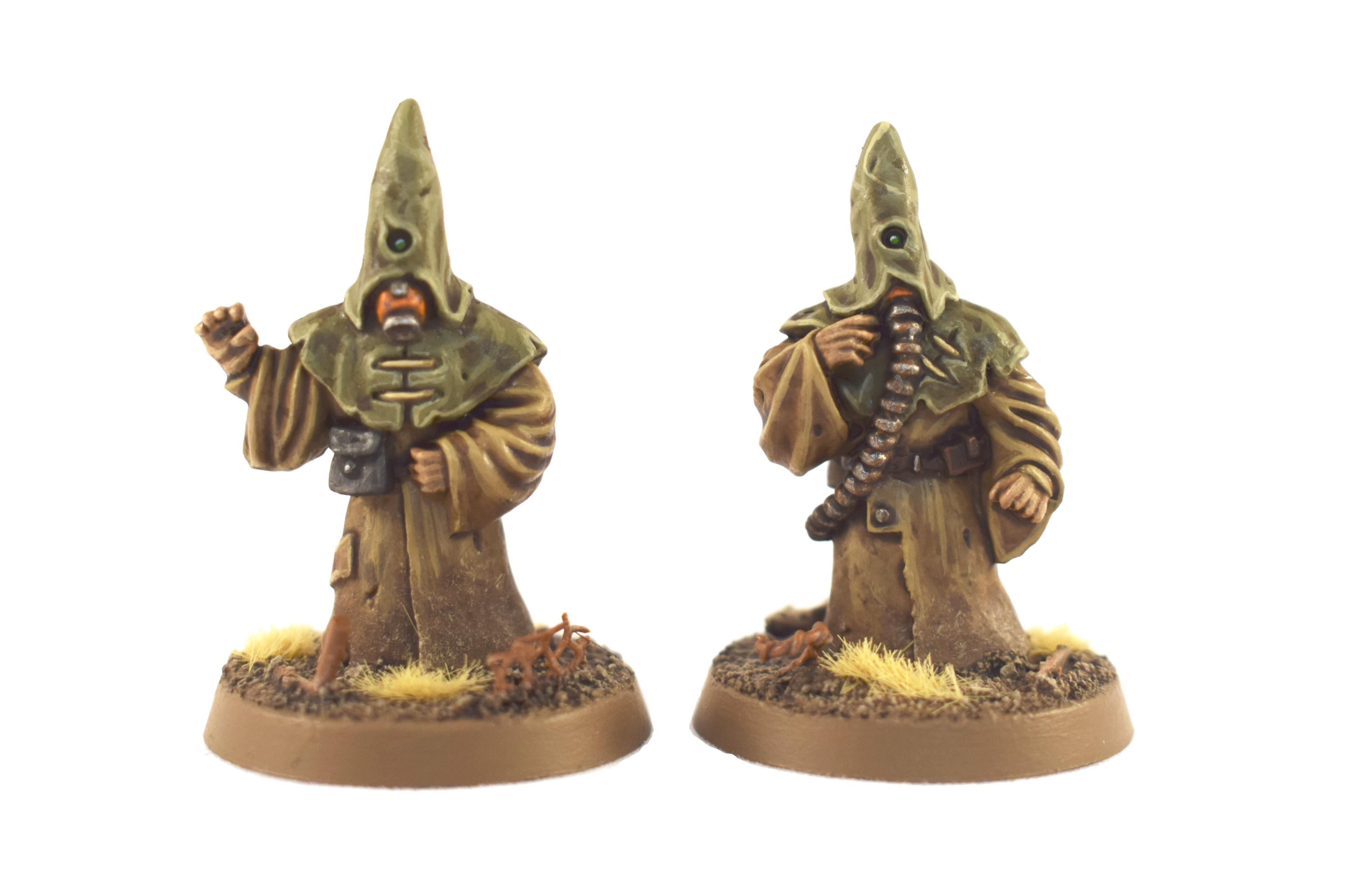 Cultist, Edinburgh Miniature Company, Miniatures Of The North, Tox Troopers
