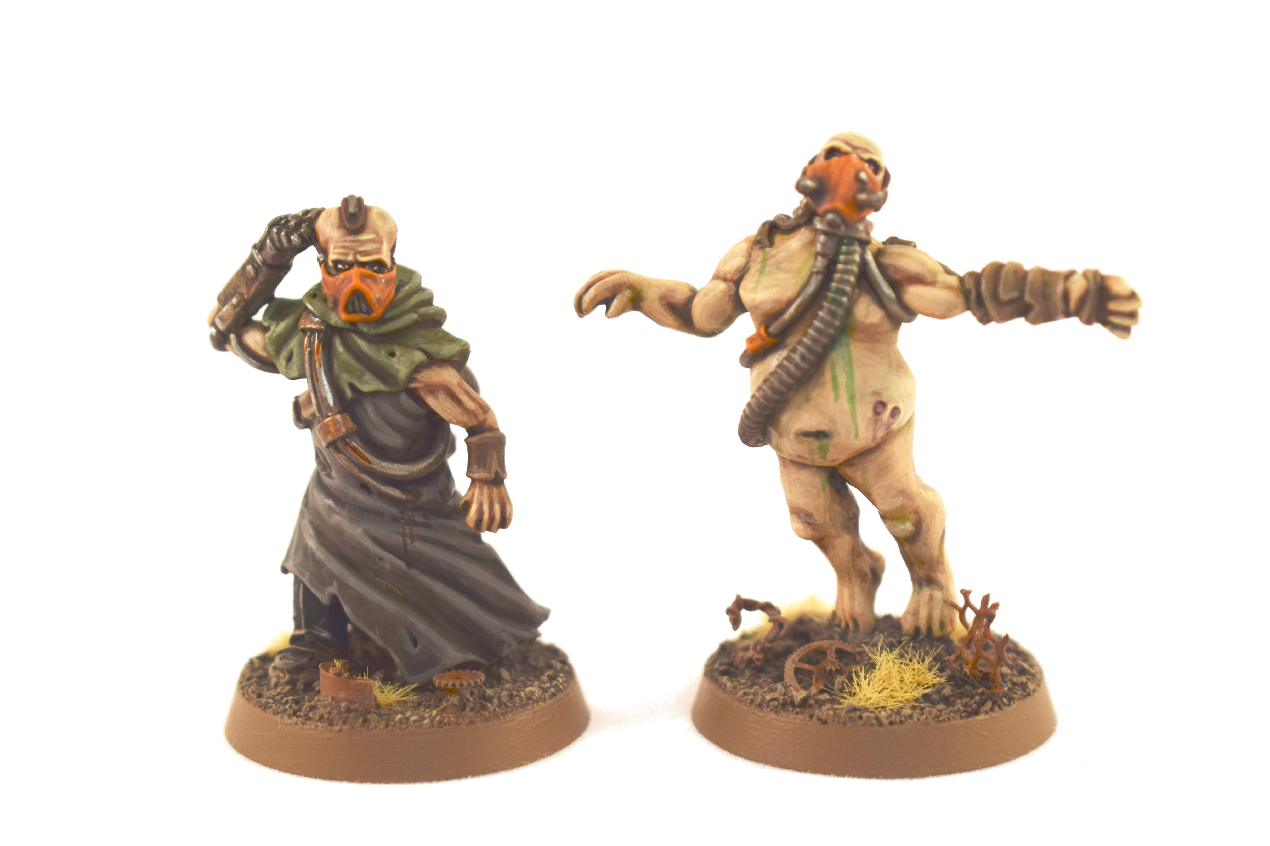 Cultist, Edinburgh Miniature Company, Miniatures Of The North, Psyker, Tox Troopers