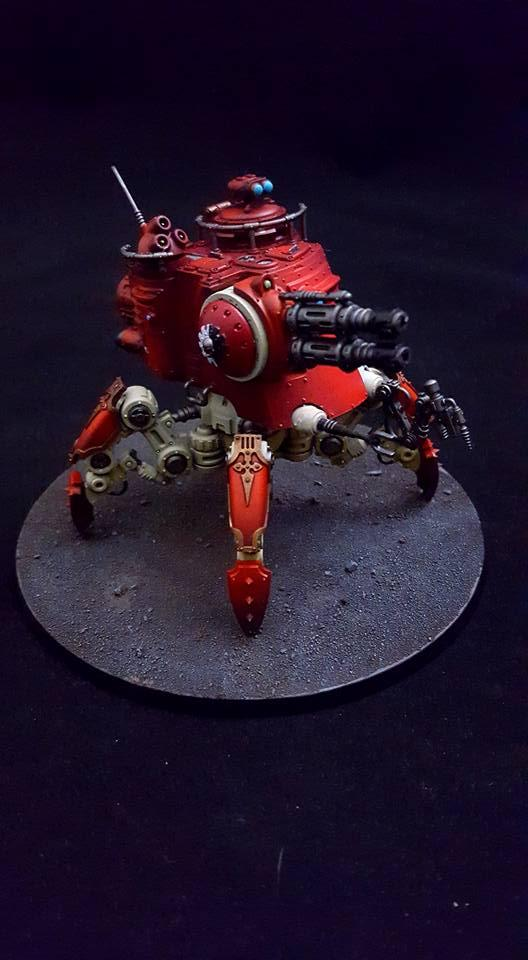 Ad Mech, Adeptus Mechanicus, Commission By Raven�s Nest Painting, Dunecrawler, Imperium, Mars, Onager, Warhammer 40,000