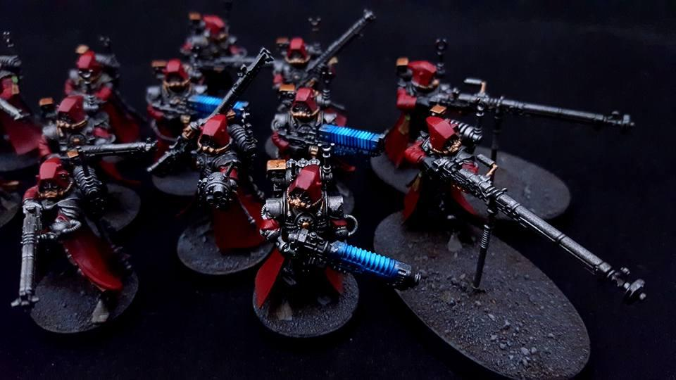 Ad Mech, Adeptus Mechanicus, Commission By Raven�s Nest Painting, Imperium, Mars, Rangers, Skitarii, Warhammer 40,000