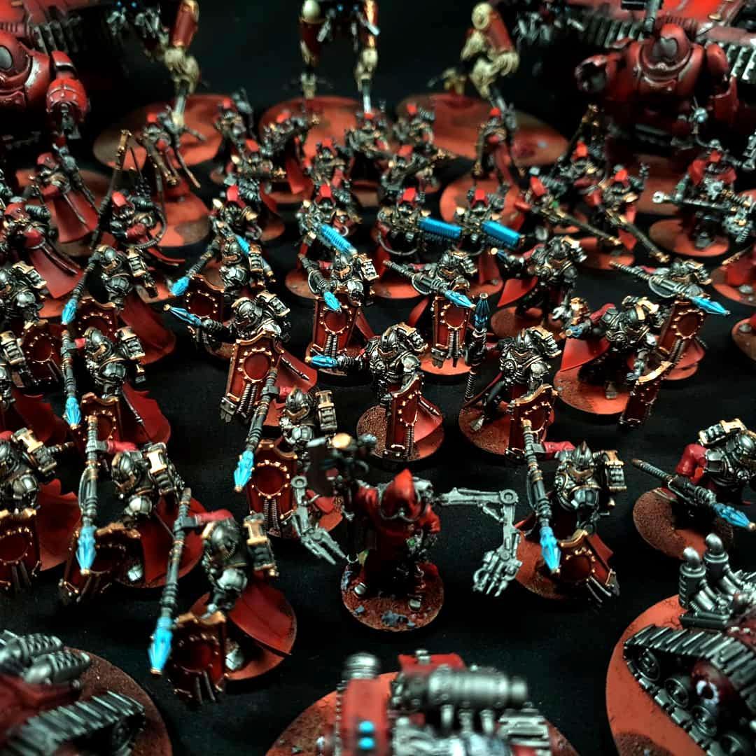 Ad Mech, Adeptus Mechanicus, Hoplites, Imperium, Mars, Secutarii, Tech-priest, Warhammer 40,000