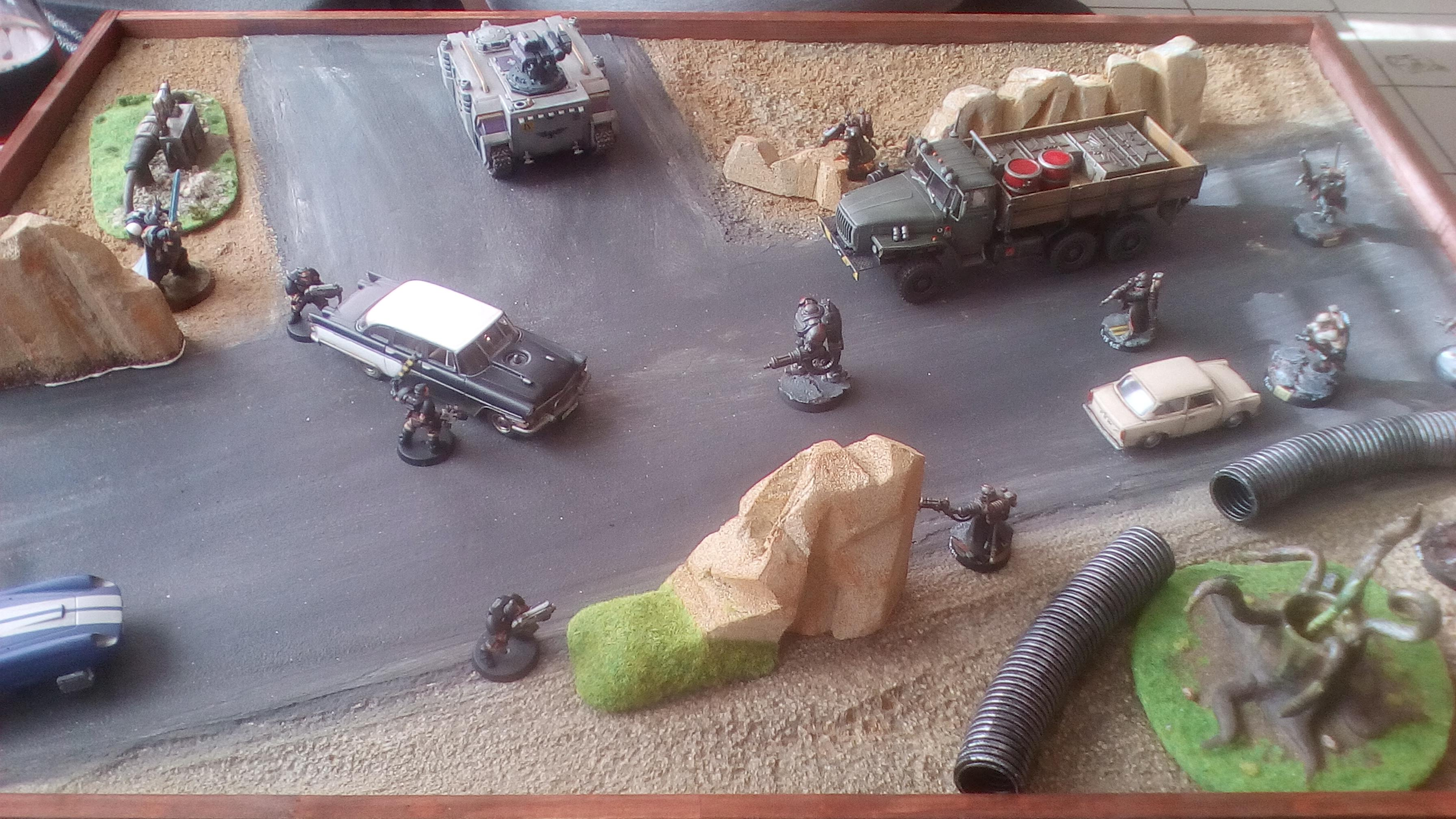 Cars, Kill Team, Terrain