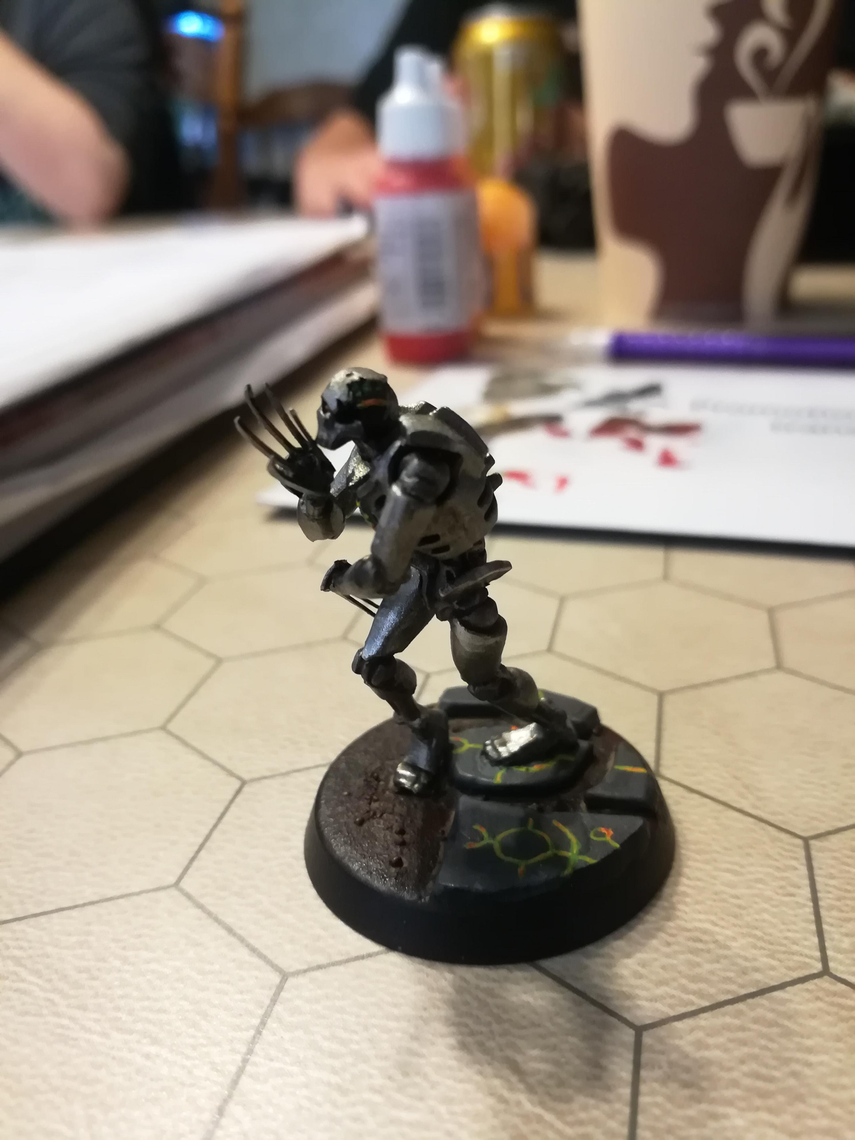 Blood, Flayed Ones, Necrons, Water Effects