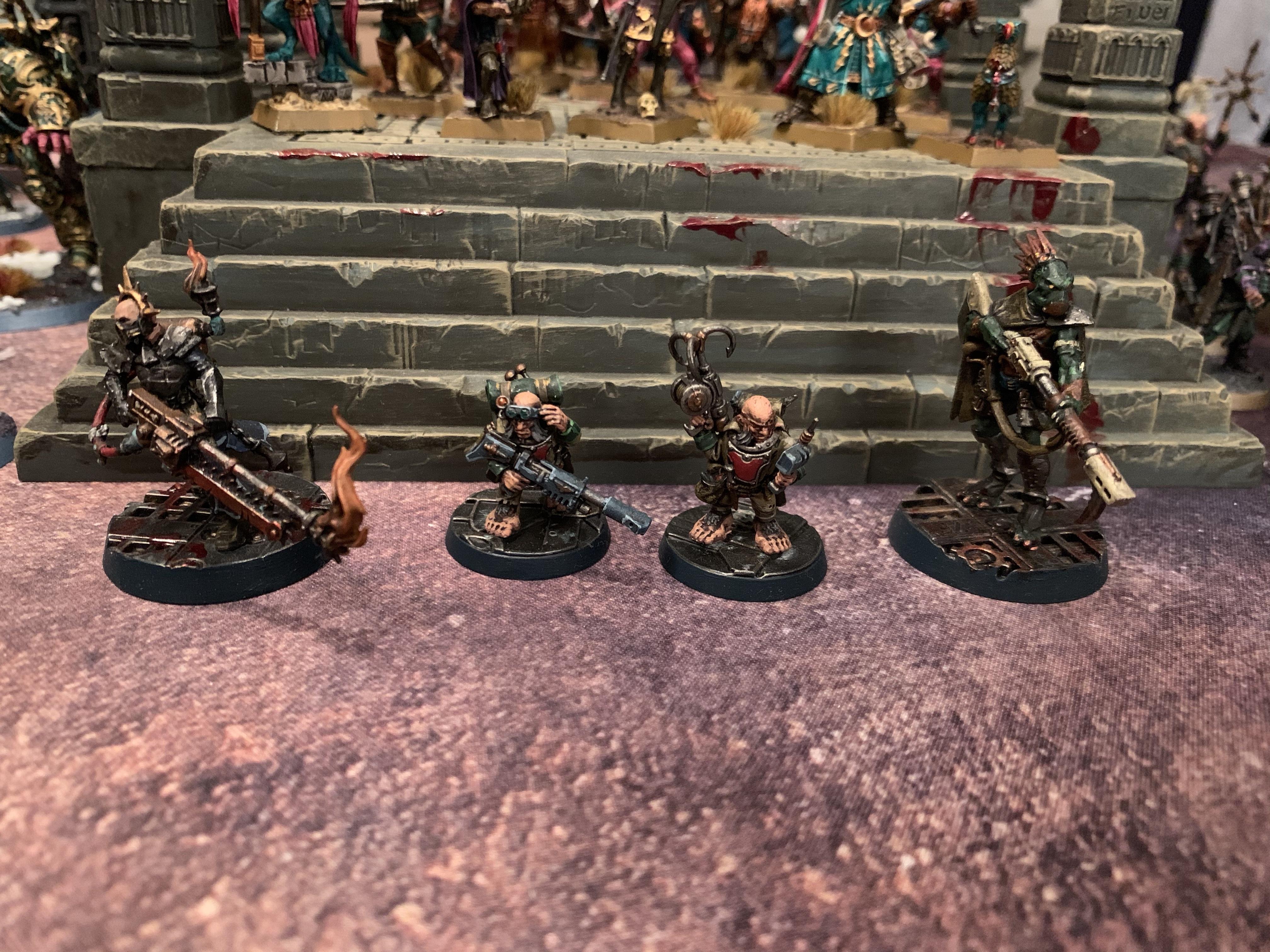 Blackstone Fortress heroes