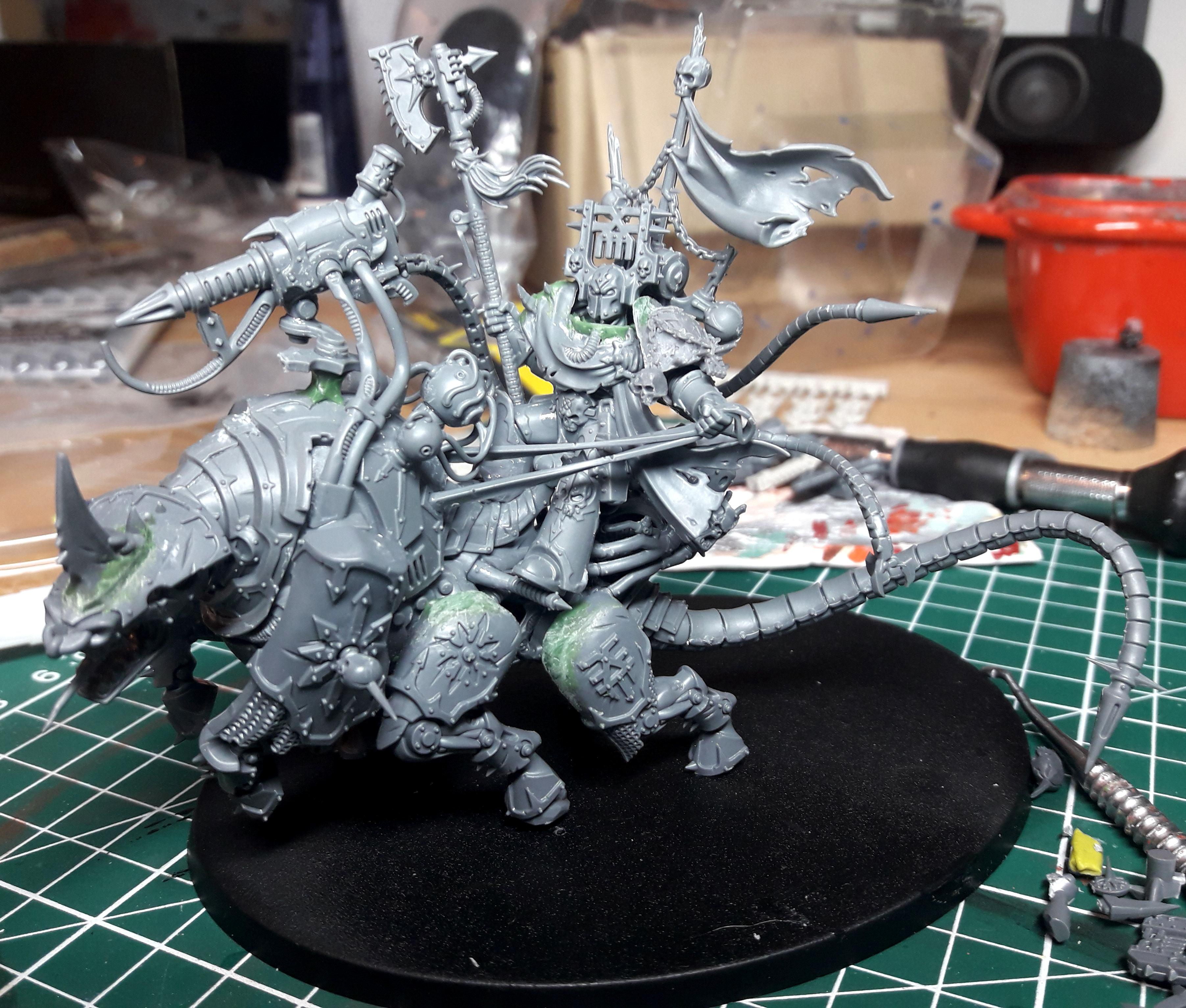 Chaos, Chaos Space Marines, Conversion, Daemons, Khorne, Lord Discordant, World Eaters