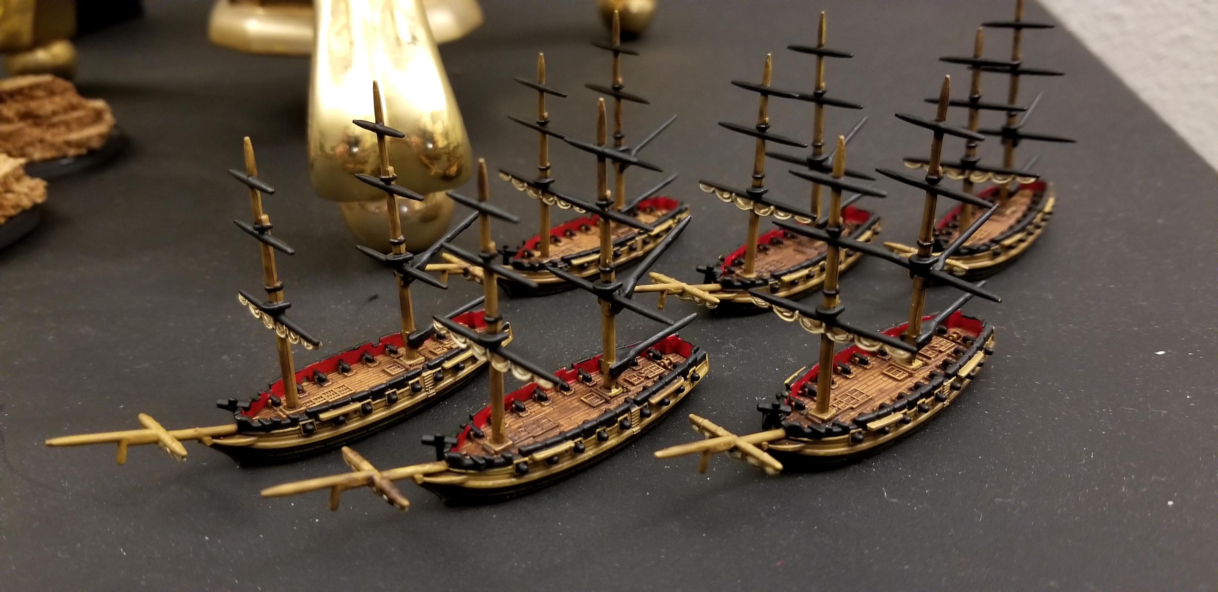 Black Seas, Black Seas English Brigs