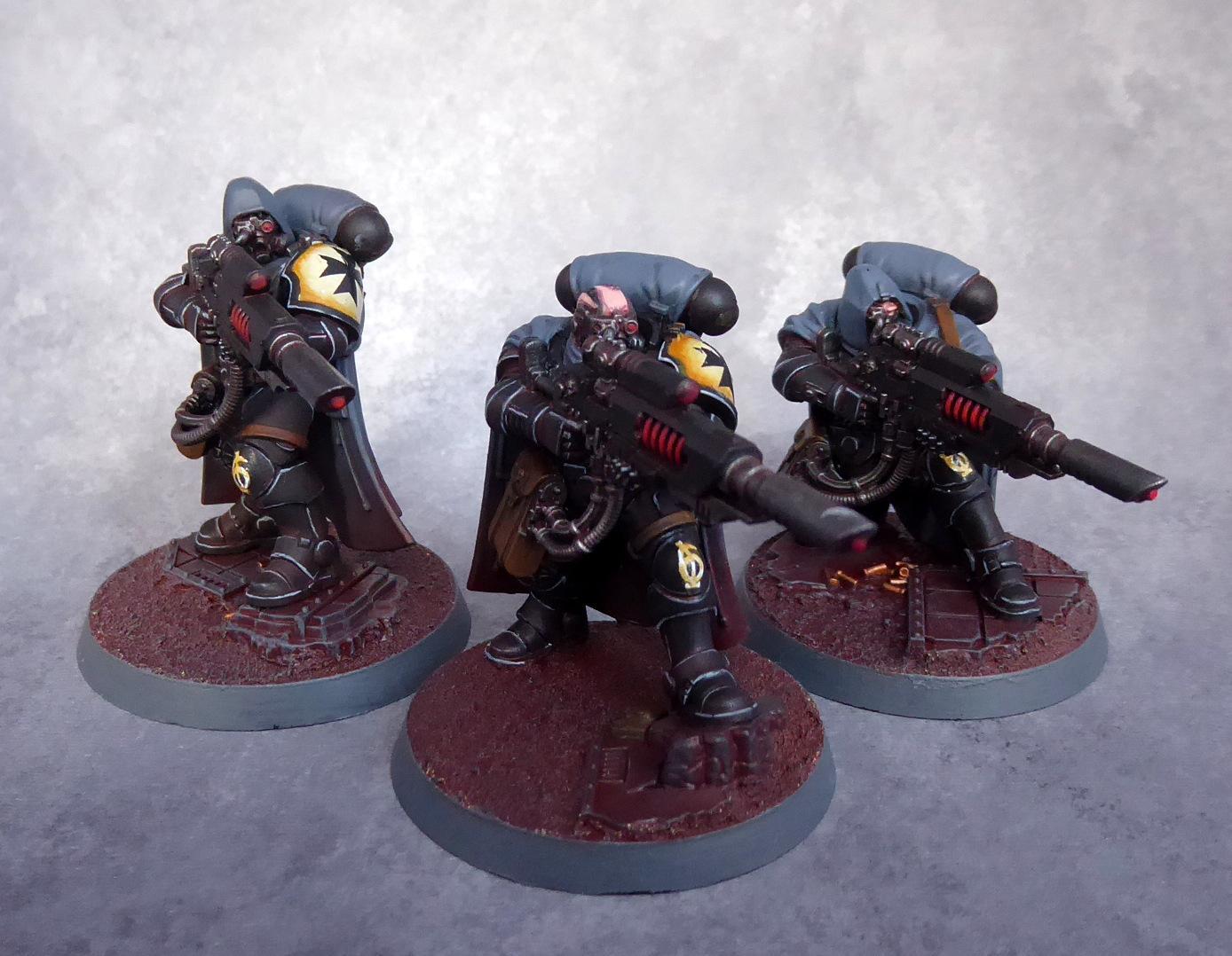 Black Templars, Eliminators, Primaris, Space Marines, Vanguard