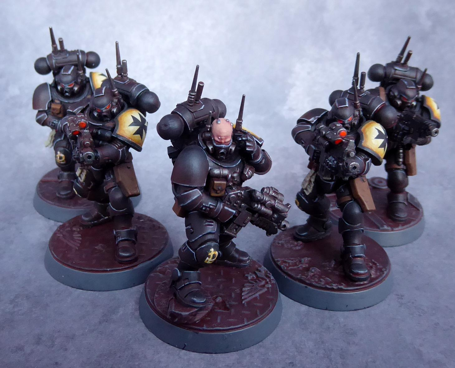 Black Templars, Infiltrators, Primaris, Space Marines, Vanguard
