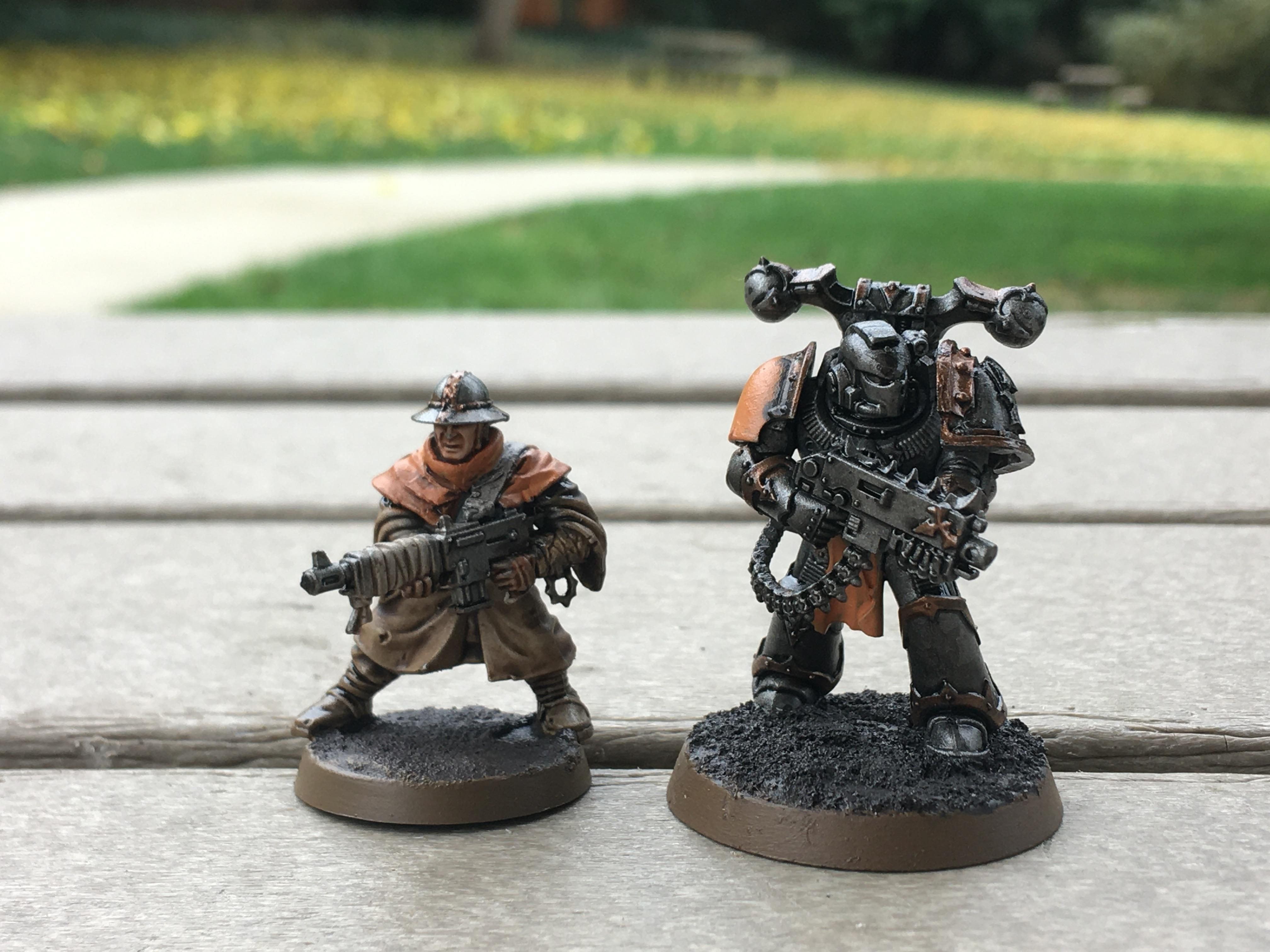 Chaos, Cultist, Heretic Astartes, Iron Warriors, Space Marines