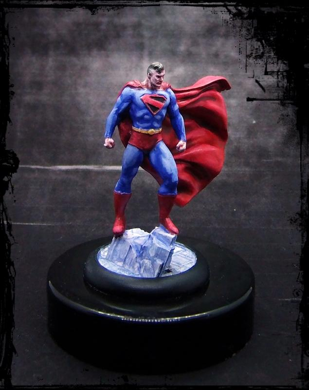 Comic, Dc, Justice League, Knight Models, Superheroes, Superman