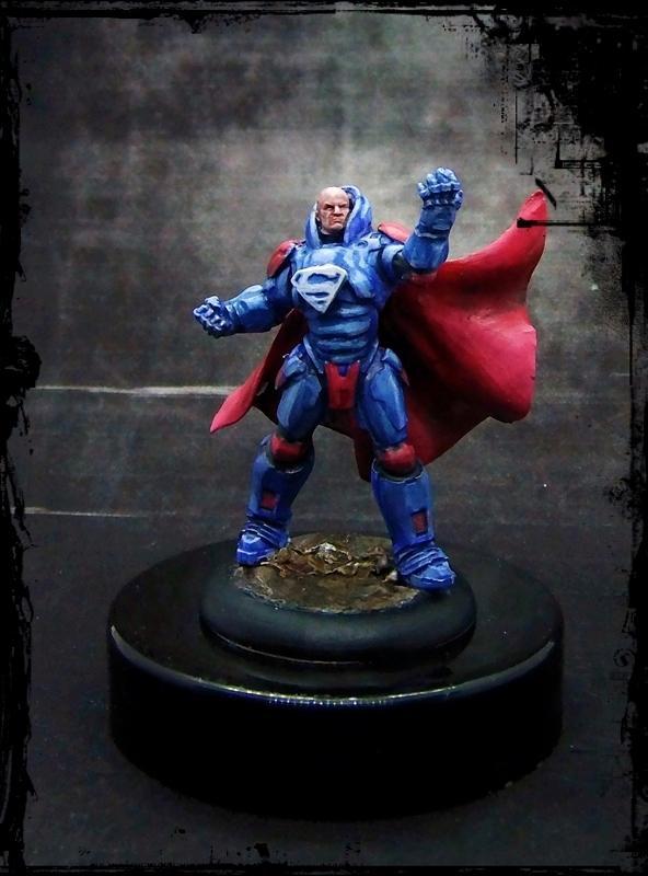 Comic, Dc, Justice League, Knight Models, Superheroes, Superman