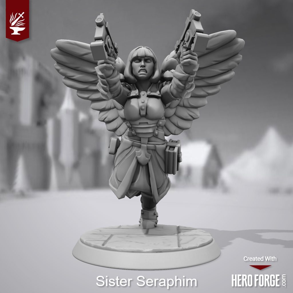 3d Print, Heroforge, Sisters Of Battle