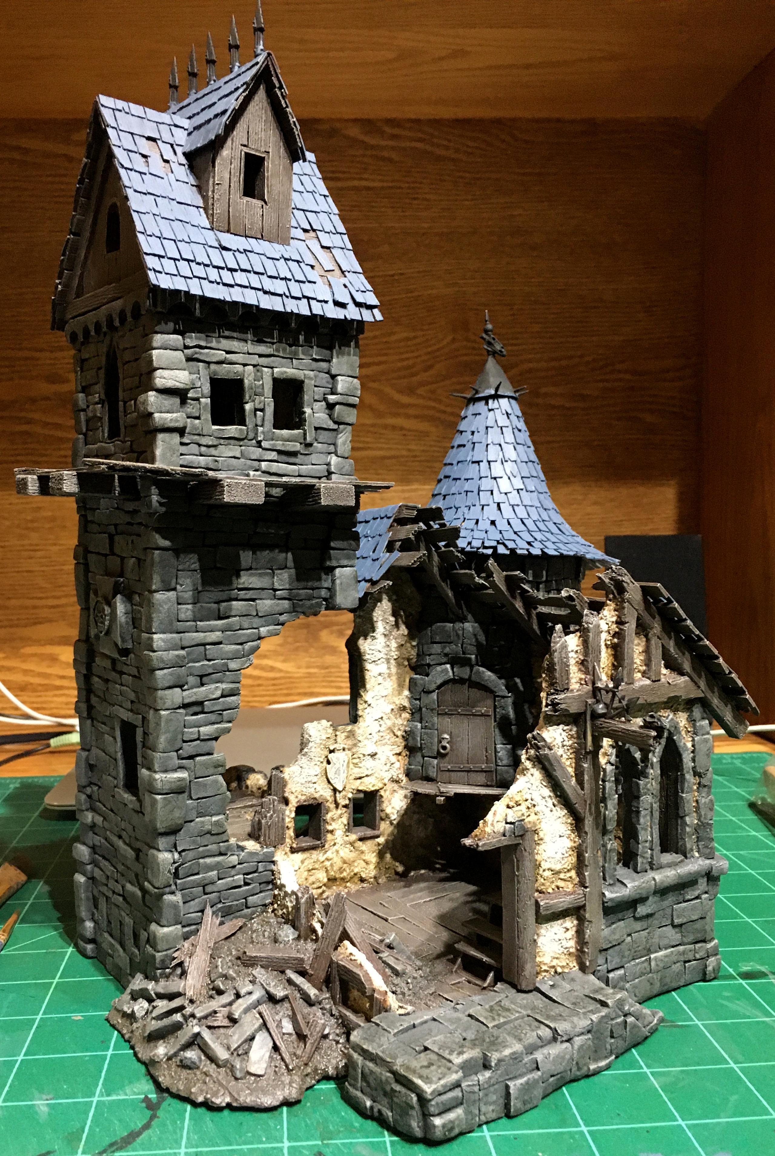 Empire, Mordheim, Scratch Build, Terrain, Warhammer Fantasy