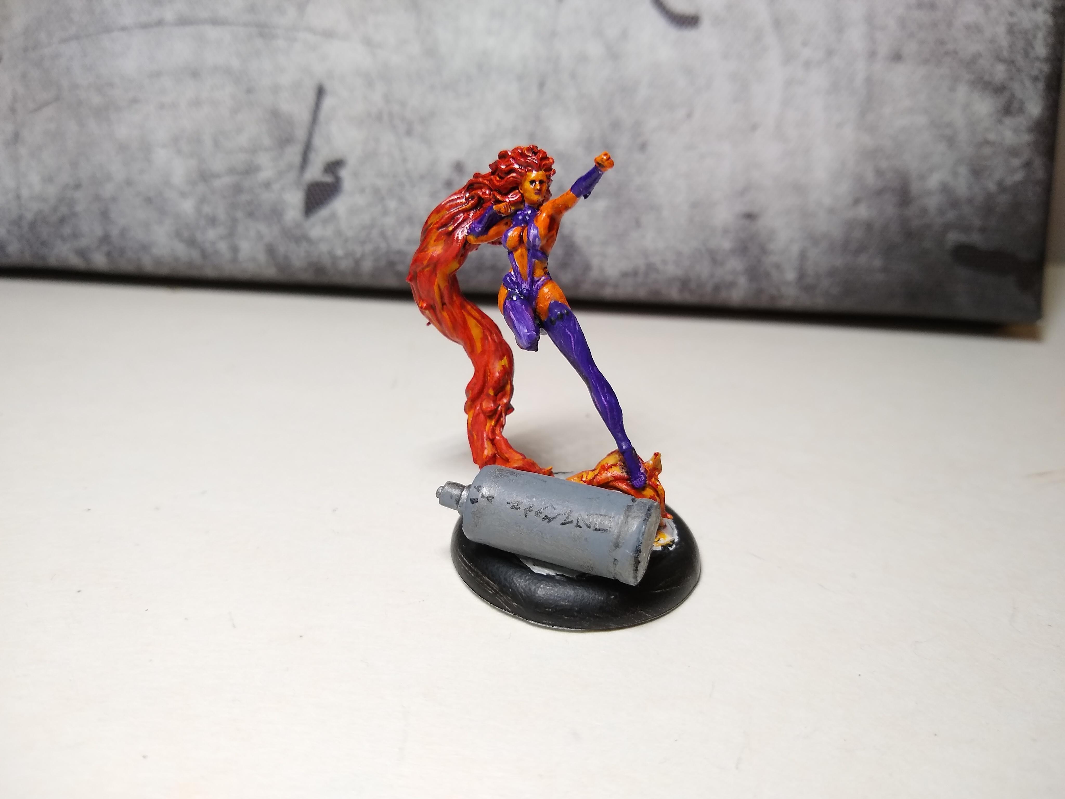 Dc, Superhero, Starfire WIP 2