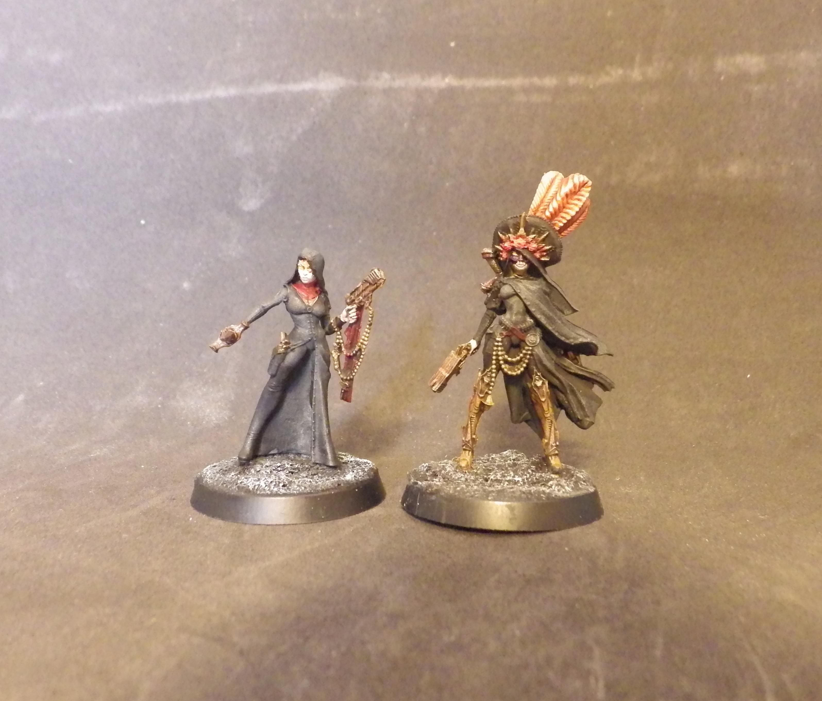 Alternate, Female, Nun, Raging Heroes