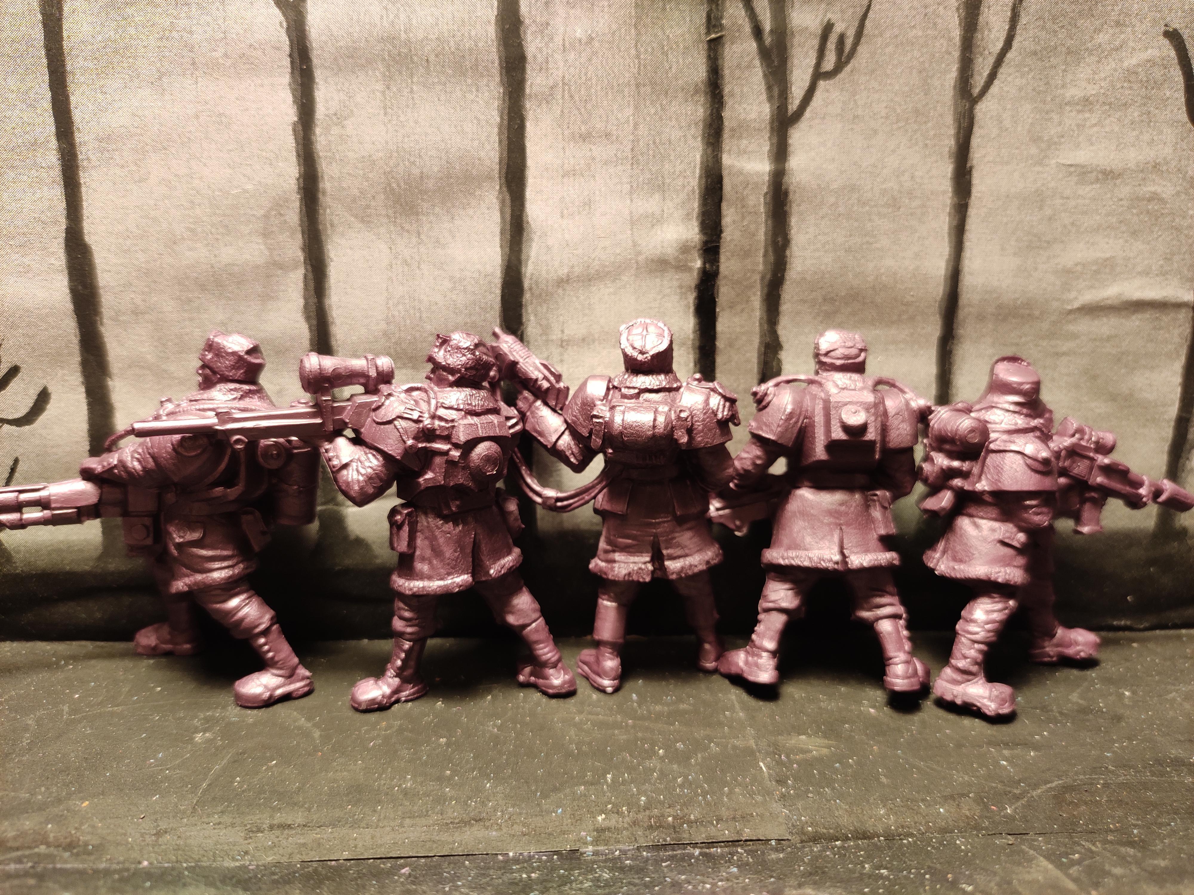 Битвы Fantasy, Autogun, Flamethrower, From Russia, Infantry, Machinegun, Regiment, Russians, Snipers, Soldier, Squad, Technolog, Tehnolog, Warriors, Work In Progress