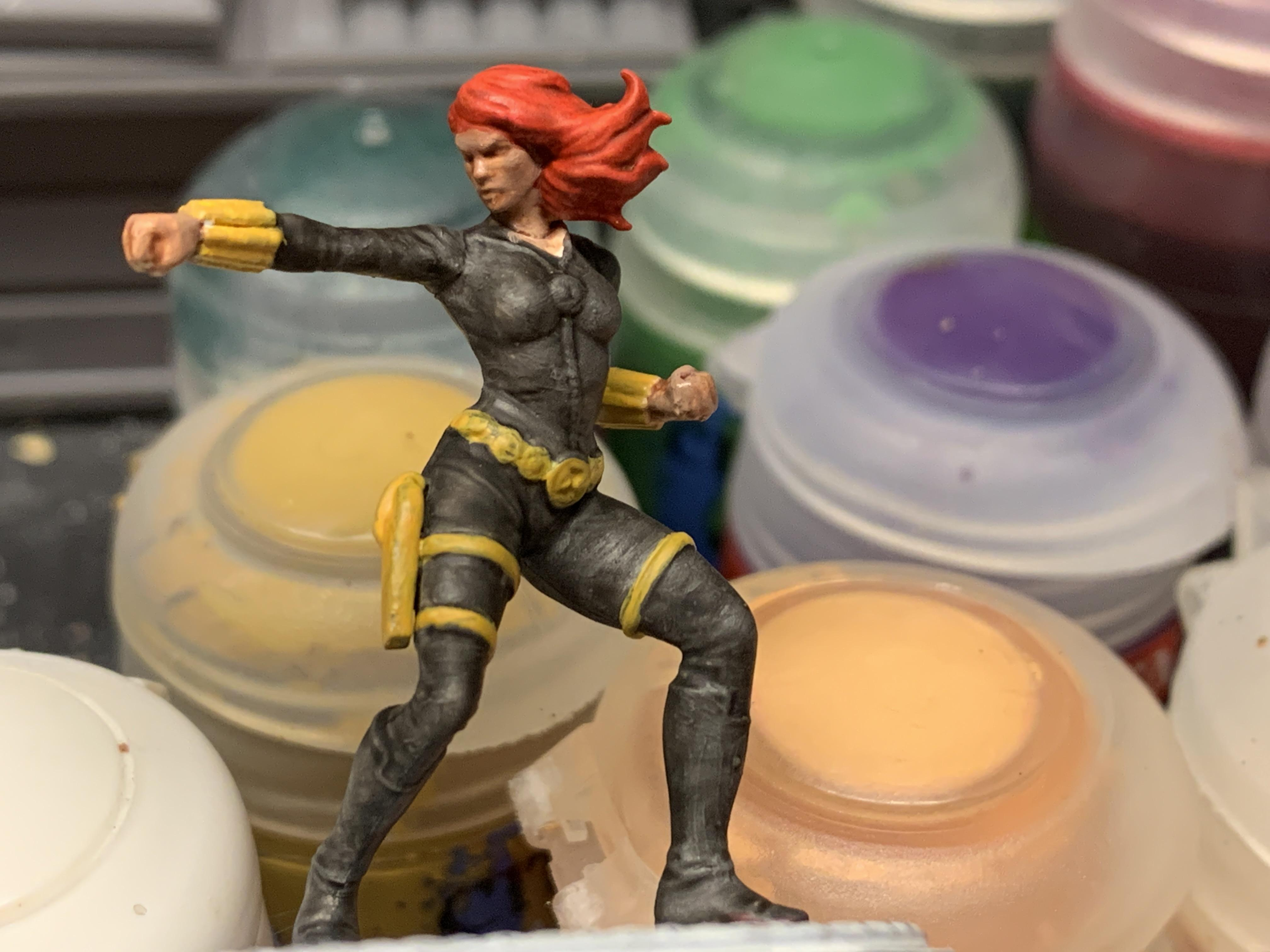 Black Widow, Female, Superhero