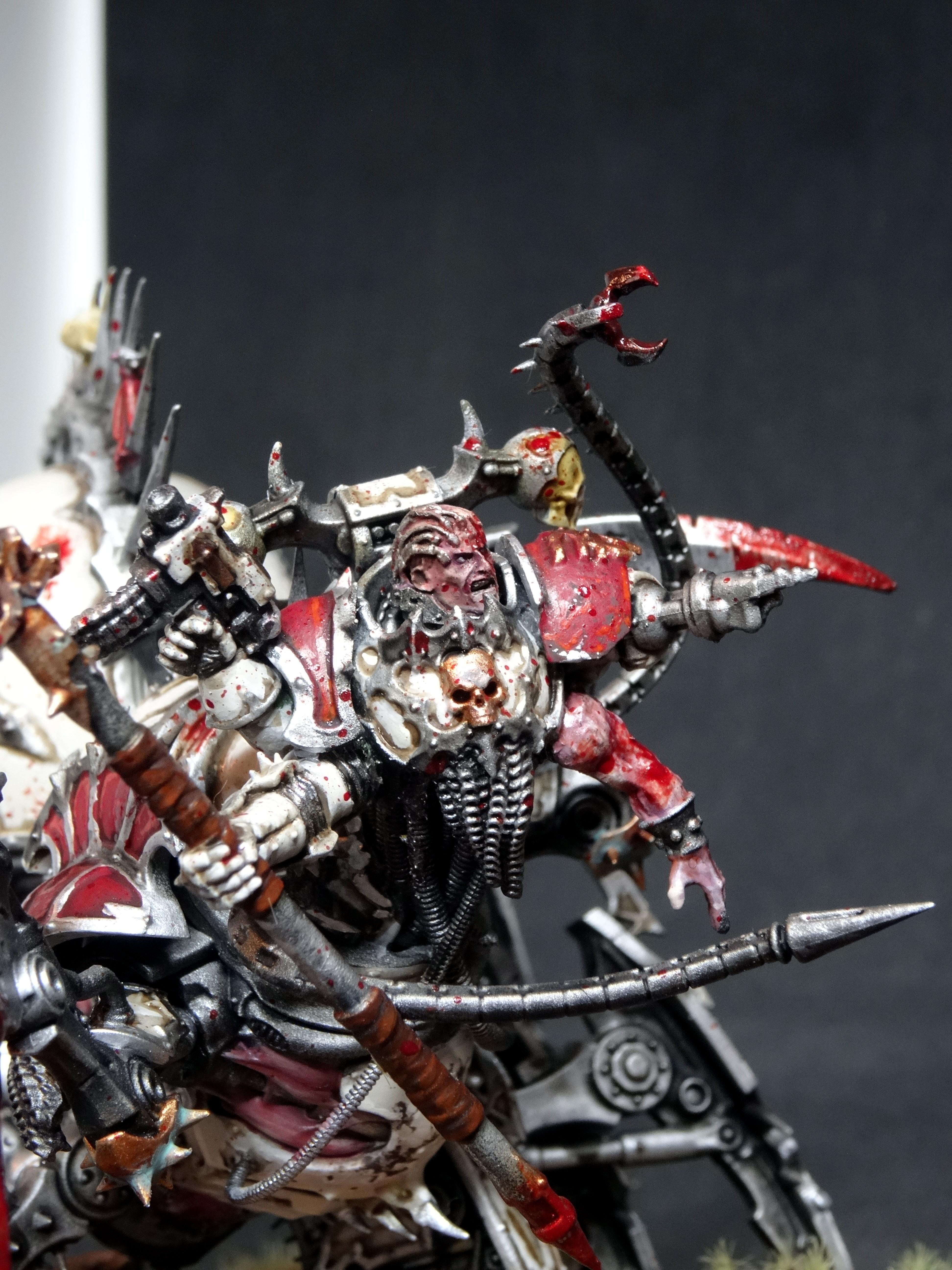 World Eaters Lord Discordant close up