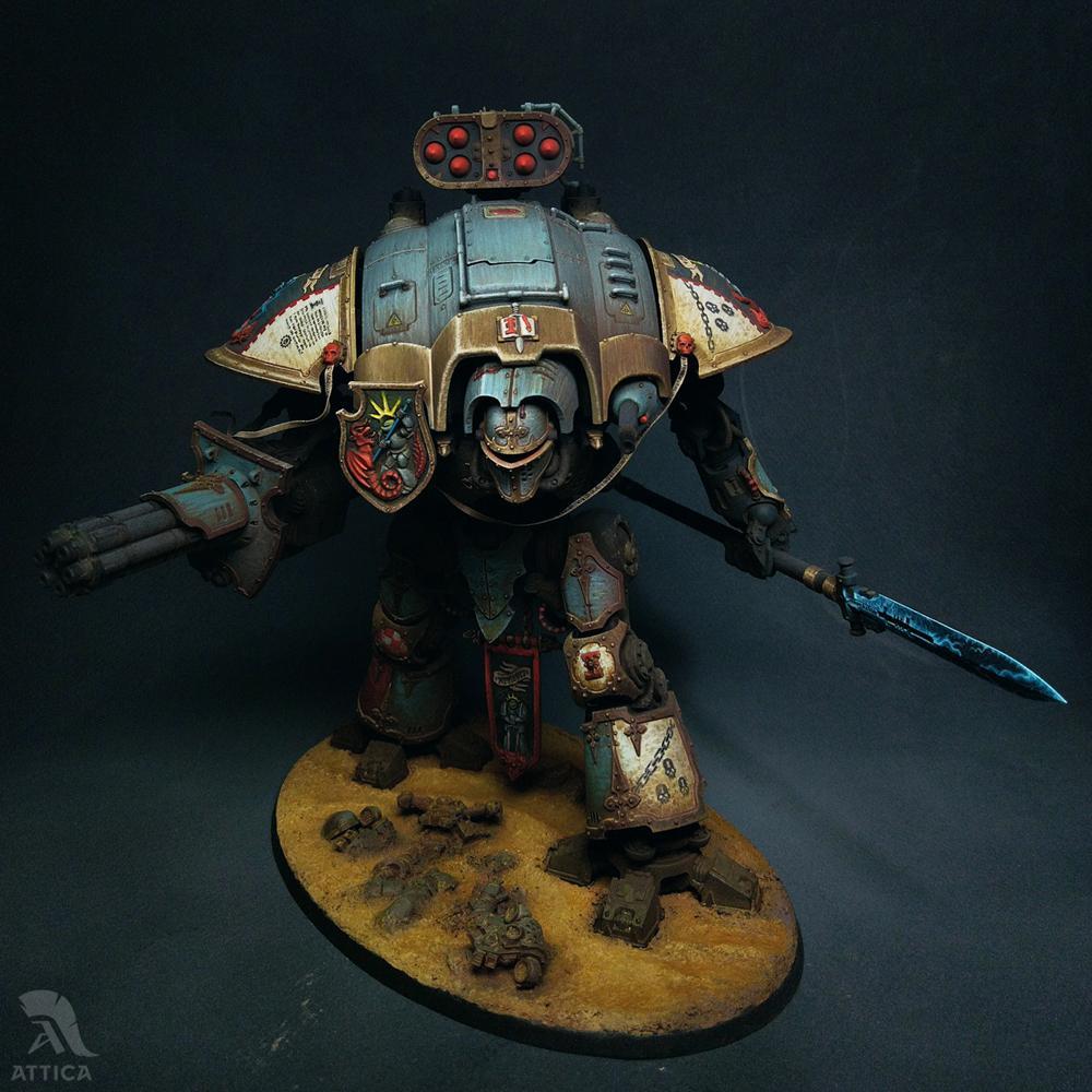 Custom, Grey Knights, Imperial Knight, Imperium, Magnet, Warhammer 40,000