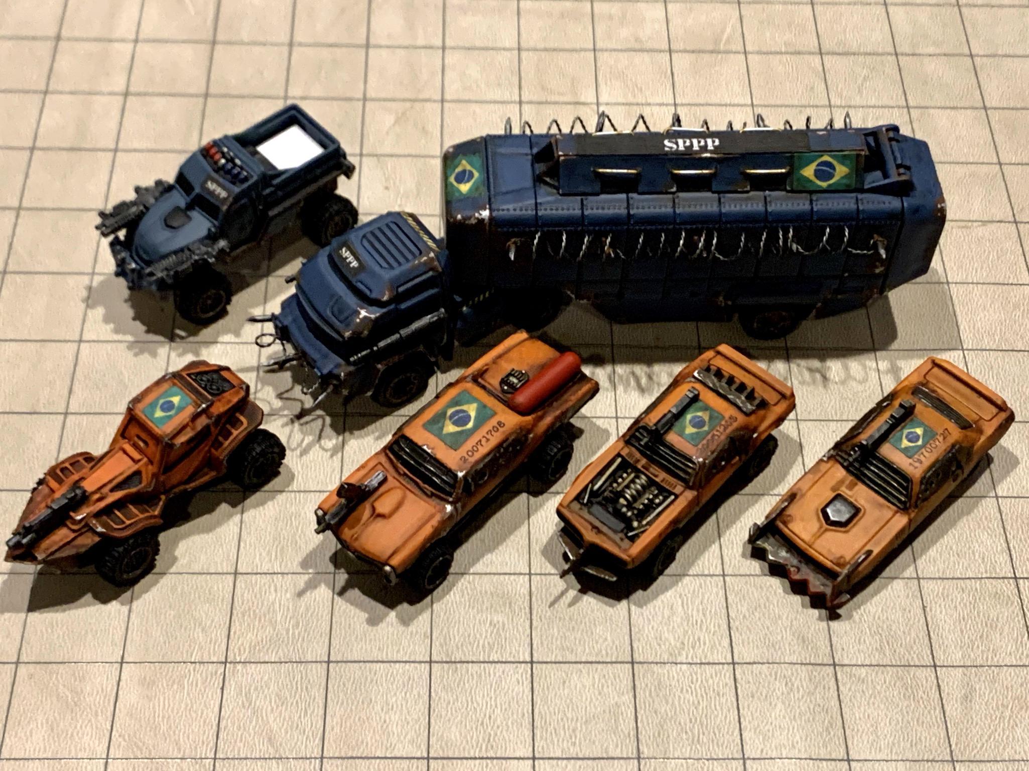 Gaslands Garage, Warden Team