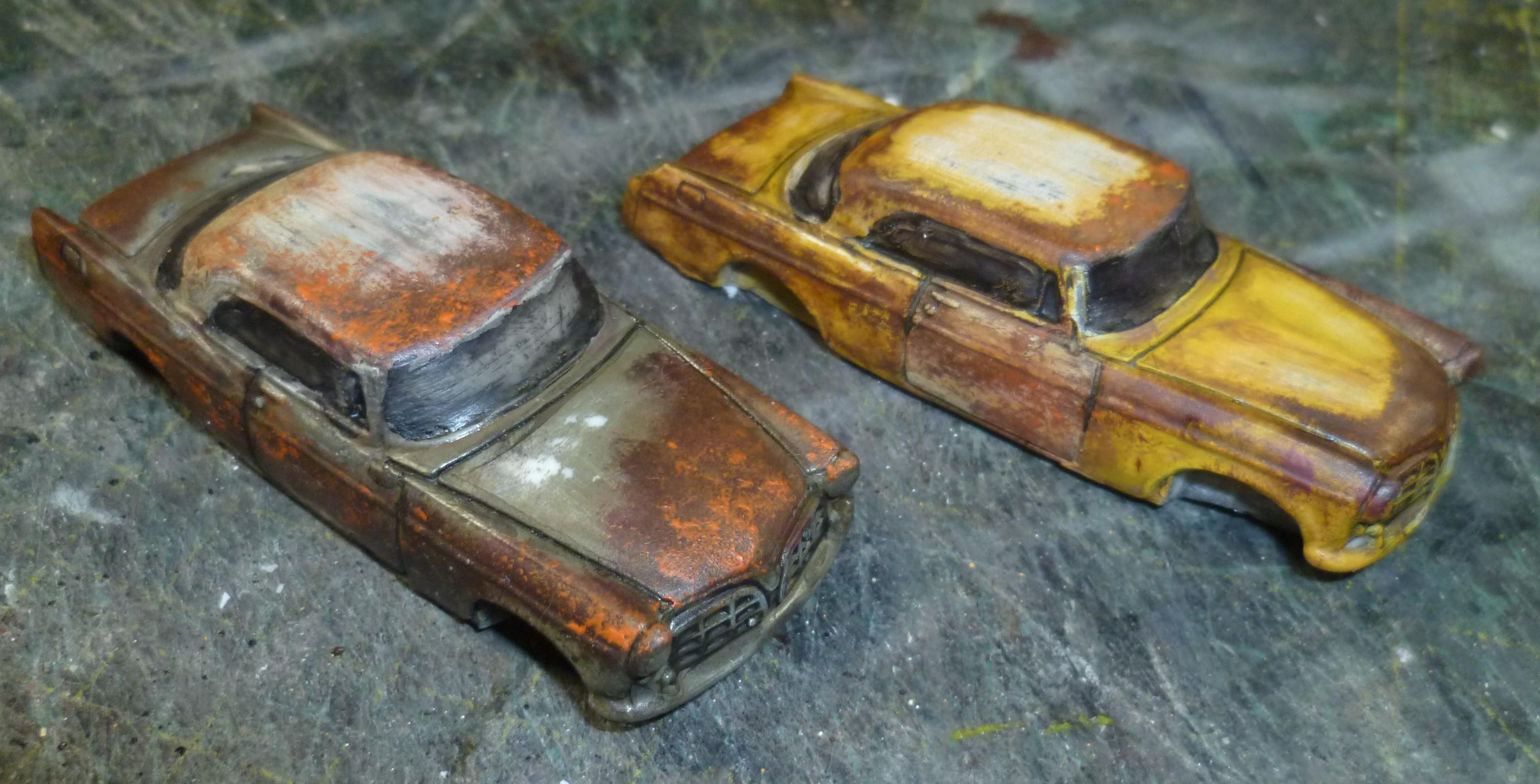 Cars, Civilian, Terrain