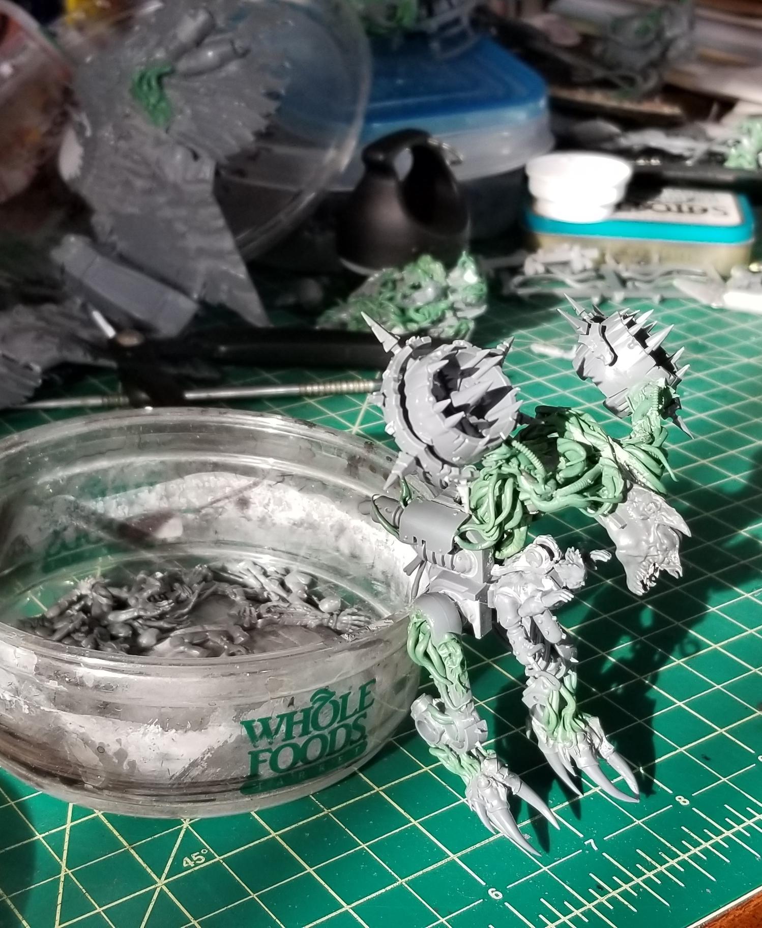 Chaos, Conversion, Daemon Prince, Daemons, Harrowed, Work In Progress