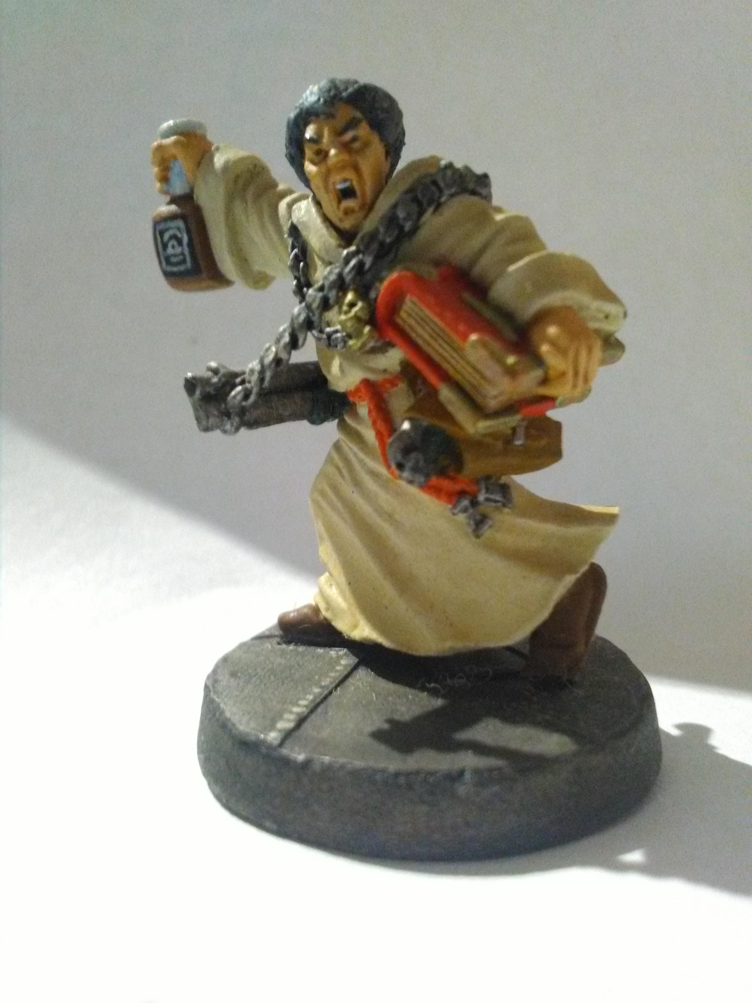 Booze, Ministorum, Necromunda, Preacher, Priest, Warhammer 40,000