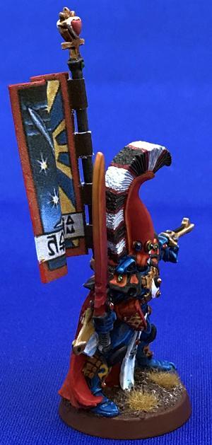 Asurmen, Banner, Eldar, Metal Asurmen, Rogue Trader