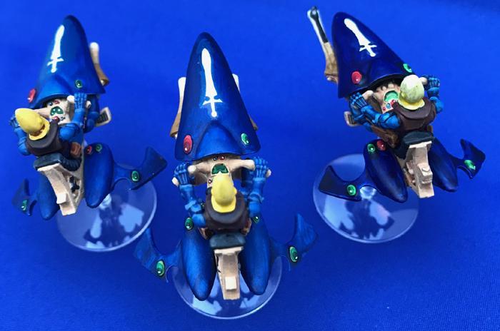 Eldar, Eldar Jet Bikes, Jet Bikes, Rogue Trader